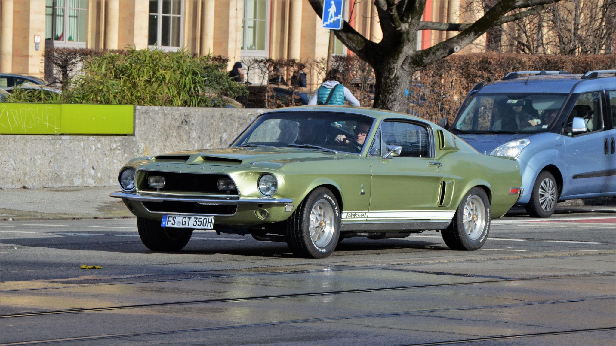 Mustang I GT 350 - FS-GT-350H