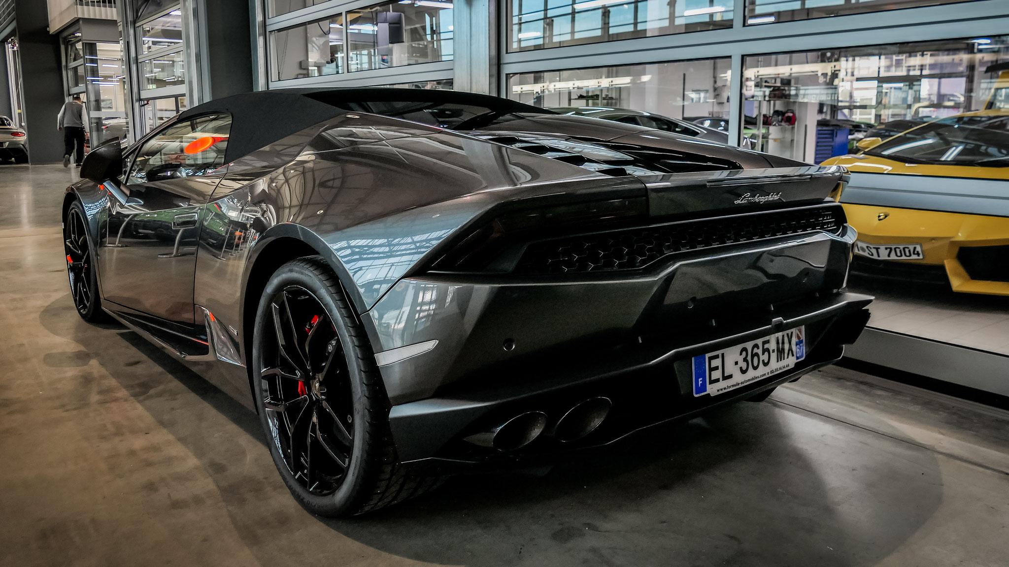 Lamborghini Huracan Spyder - EL-365-MX-67 (FRA)