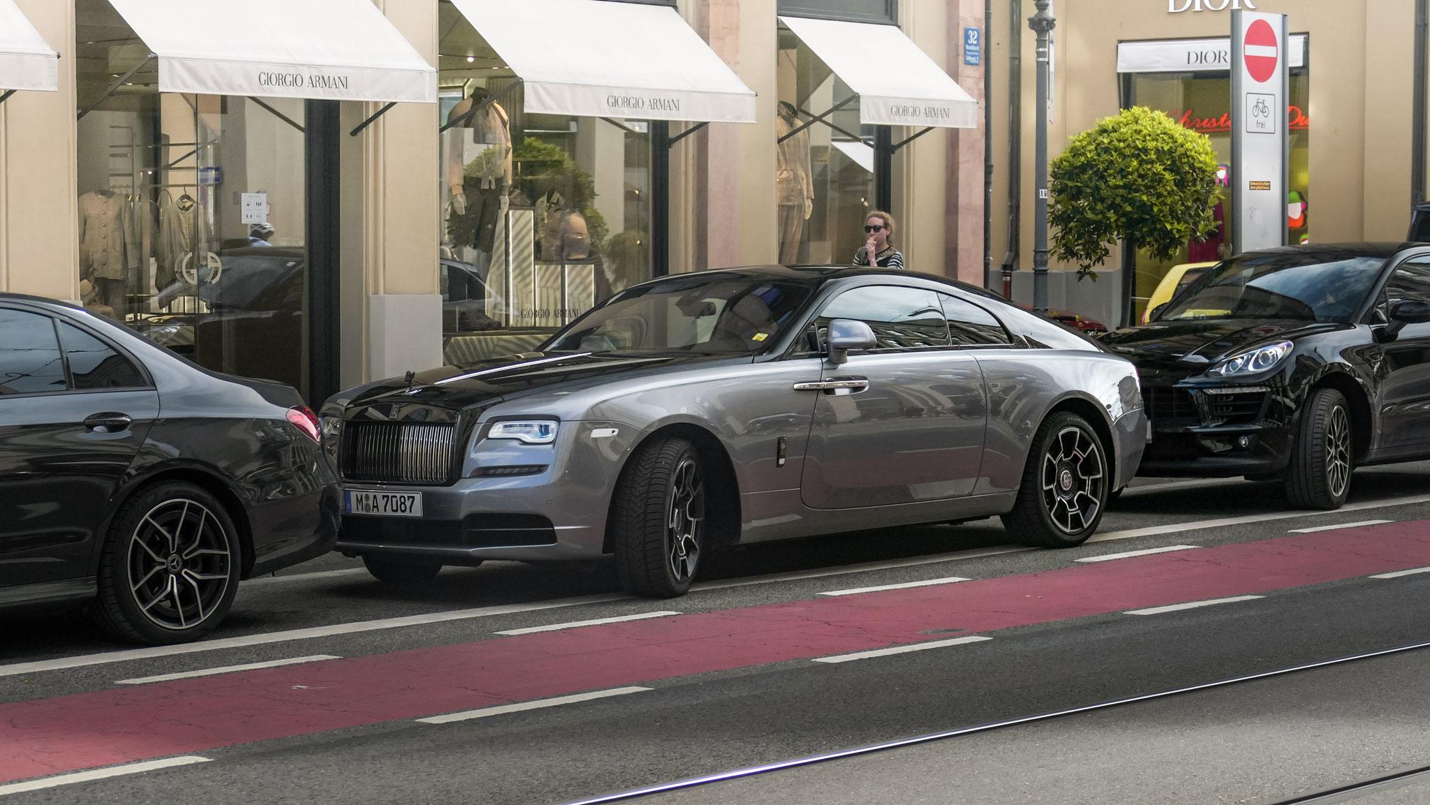 Rolls Royce Wraith - M-A-7087