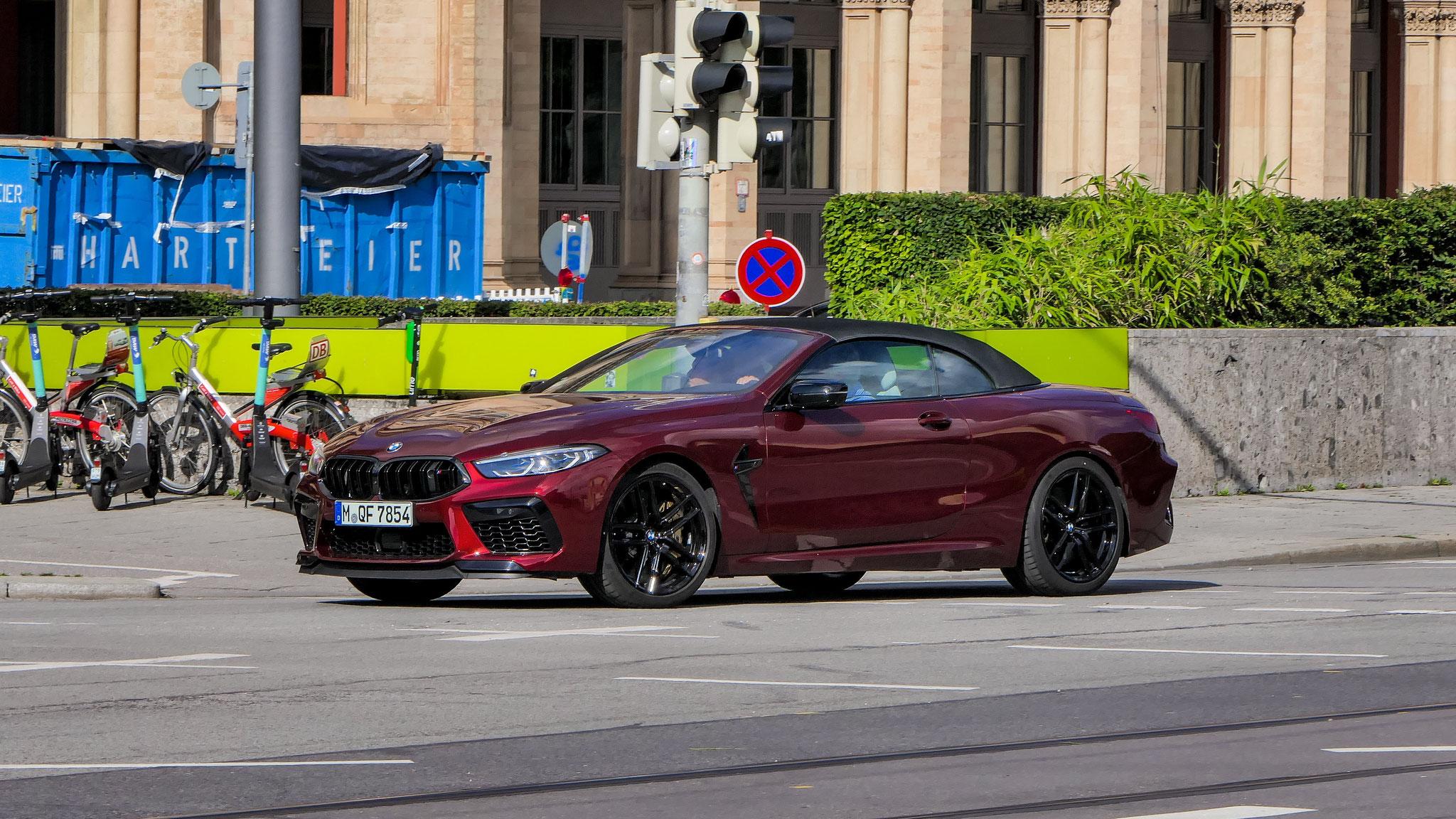 BMW M8 Competition Cabrio - M-QF-7854