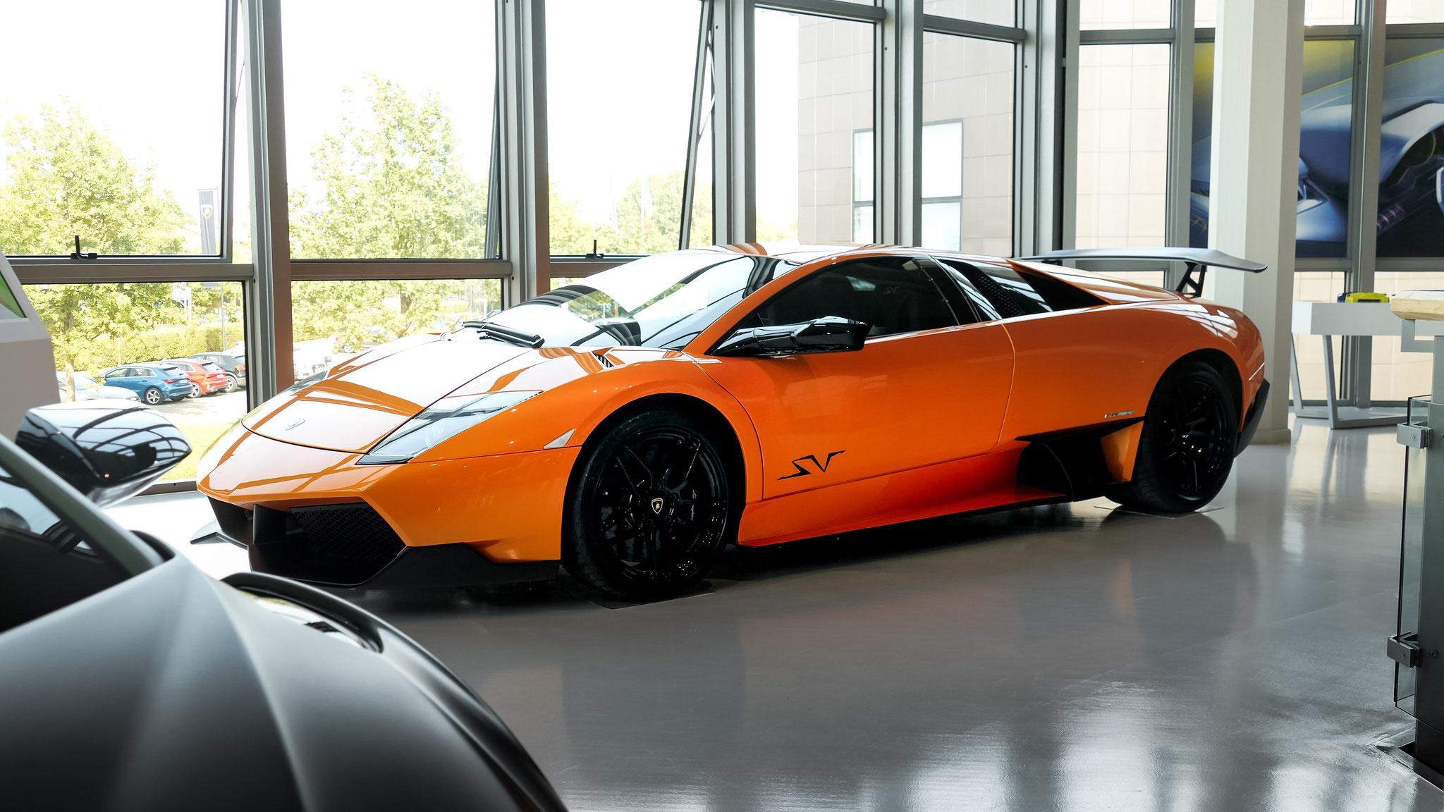 Lamborghini Murcielago SV (Lamborghini Museum)