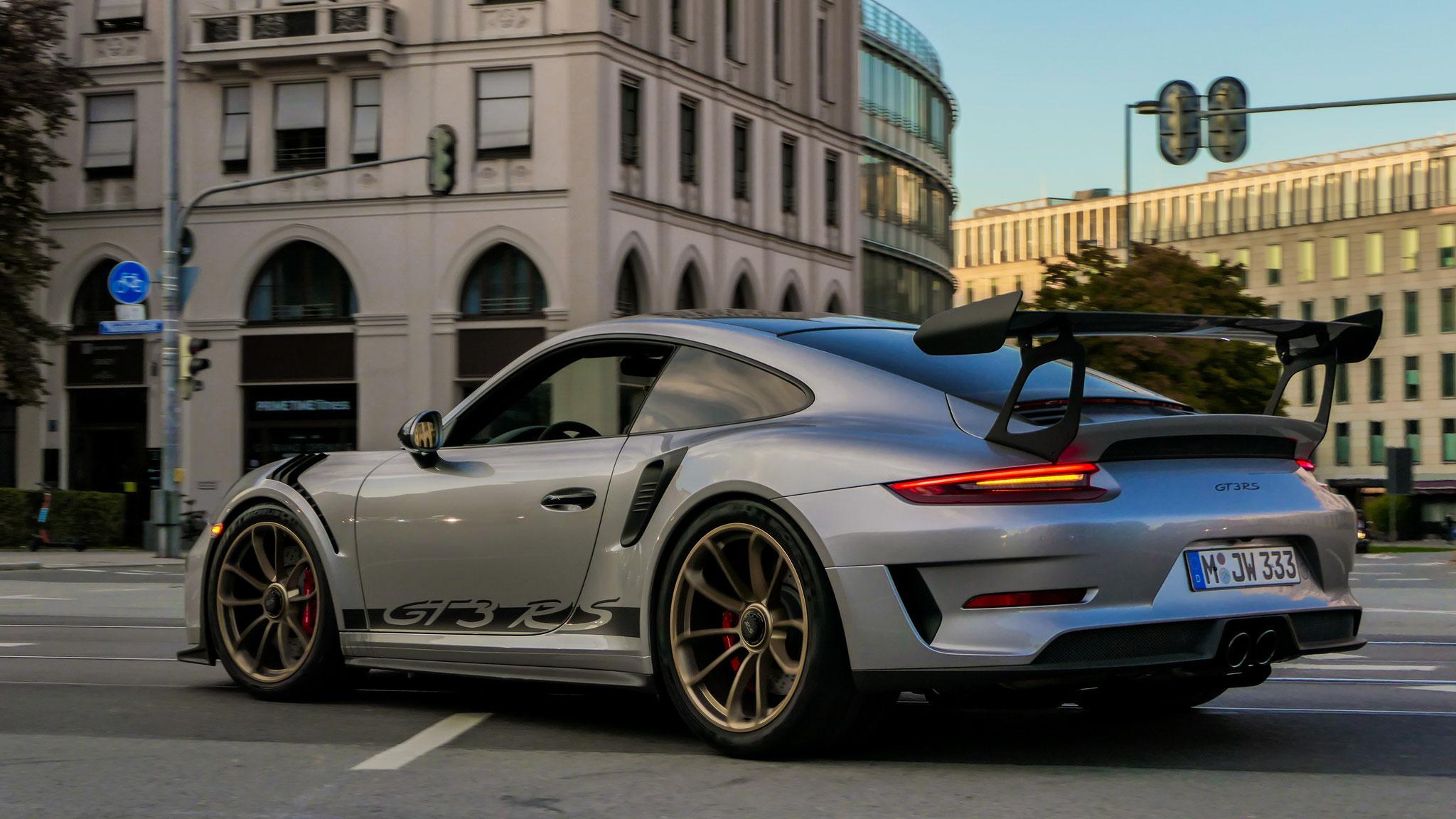 Porsche 911 991.2 GT3 RS - M-JW-333