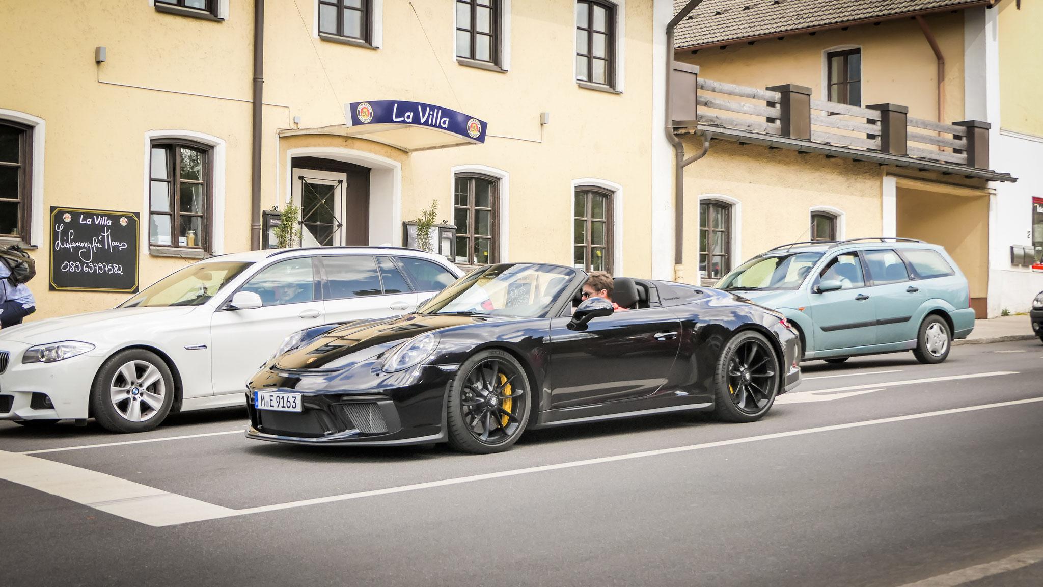 Porsche 991 Speedster - M-E-9163