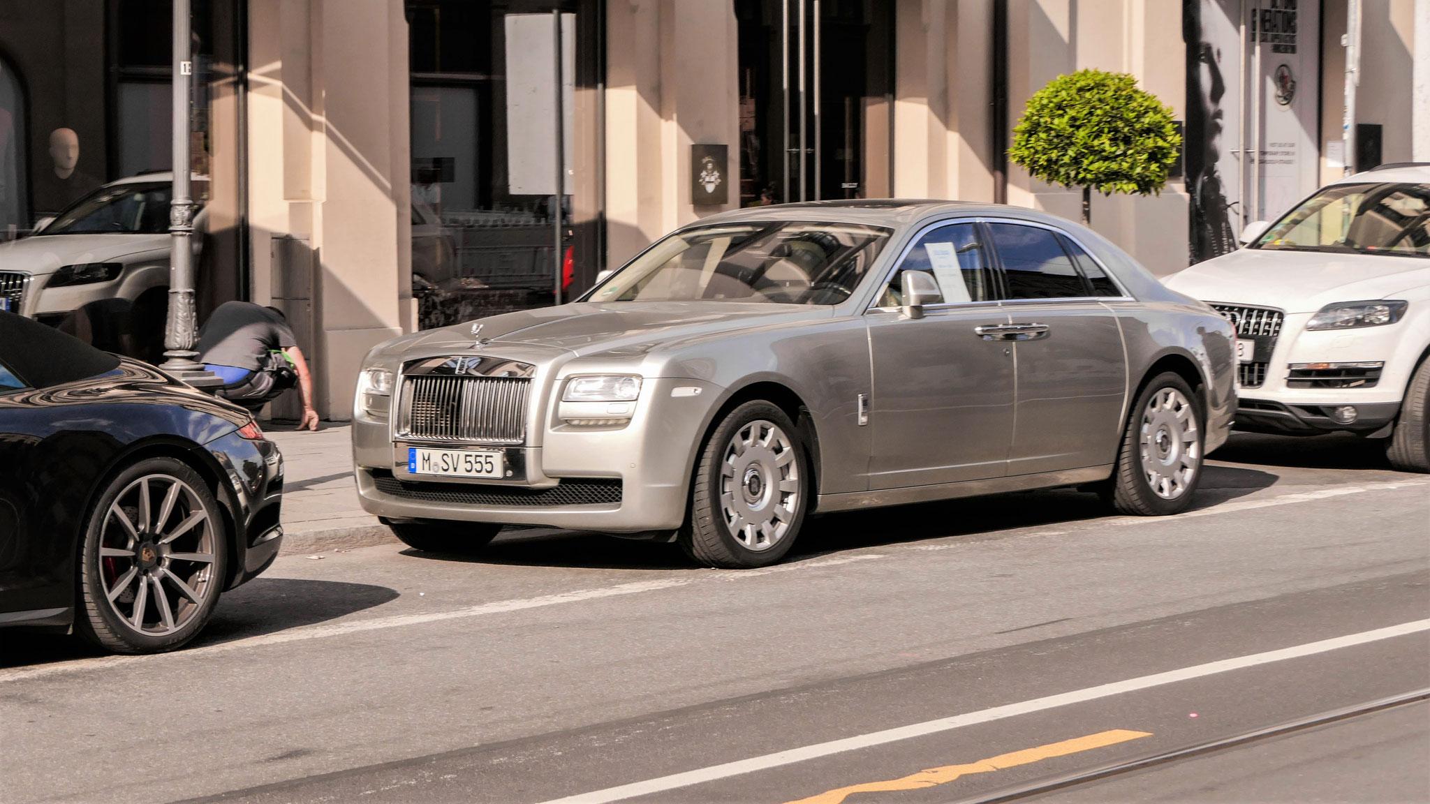 Rolls Royce Ghost - M-SV-555