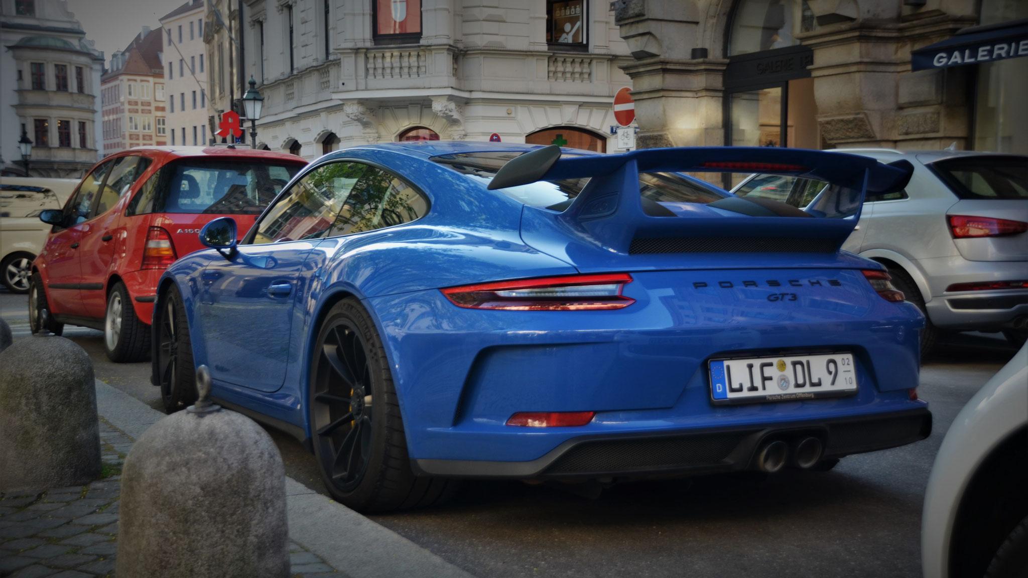 Porsche 991 GT3 - LIF-DL-9