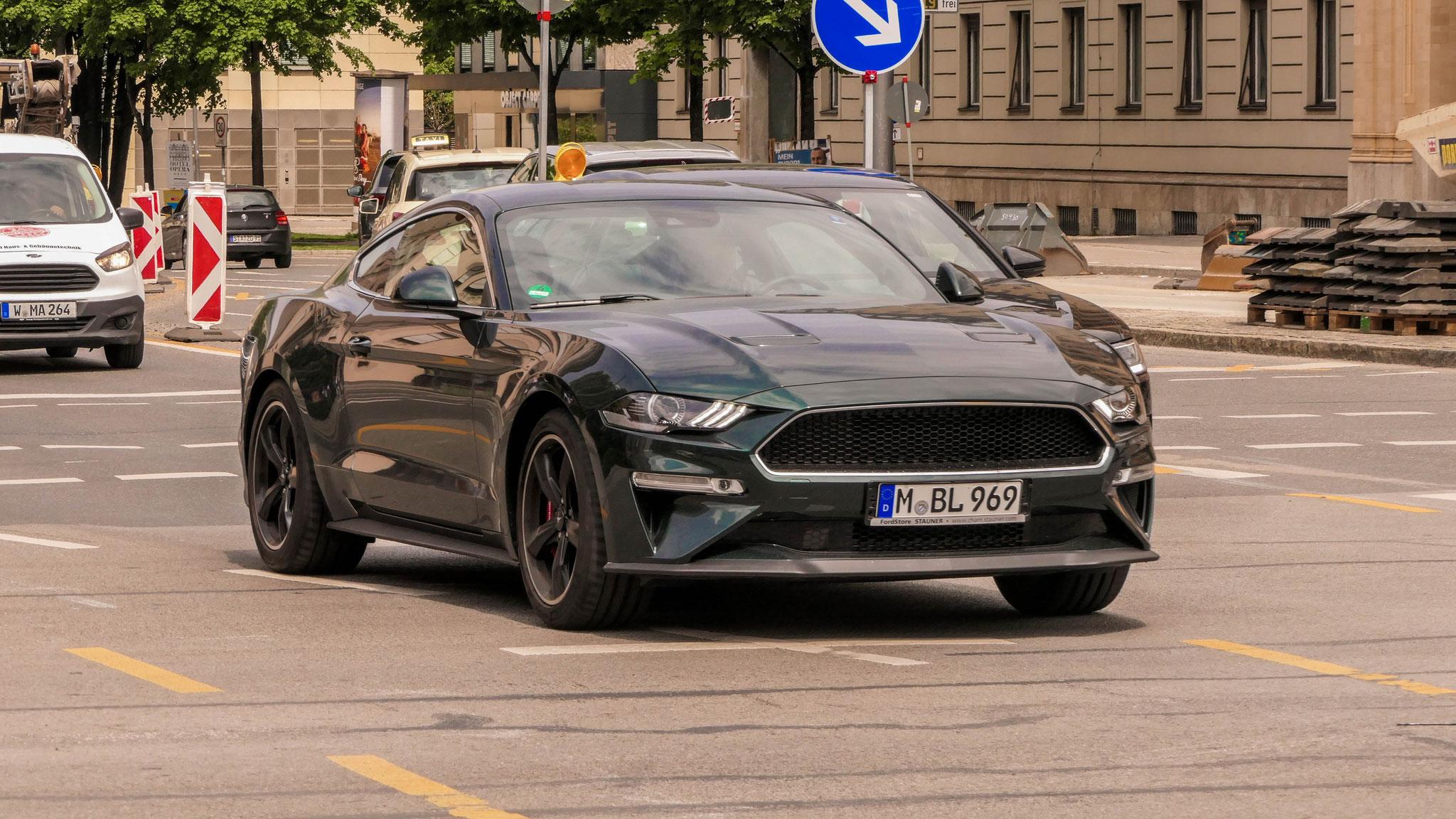 Ford Mustang Bullitt - M-BL-969