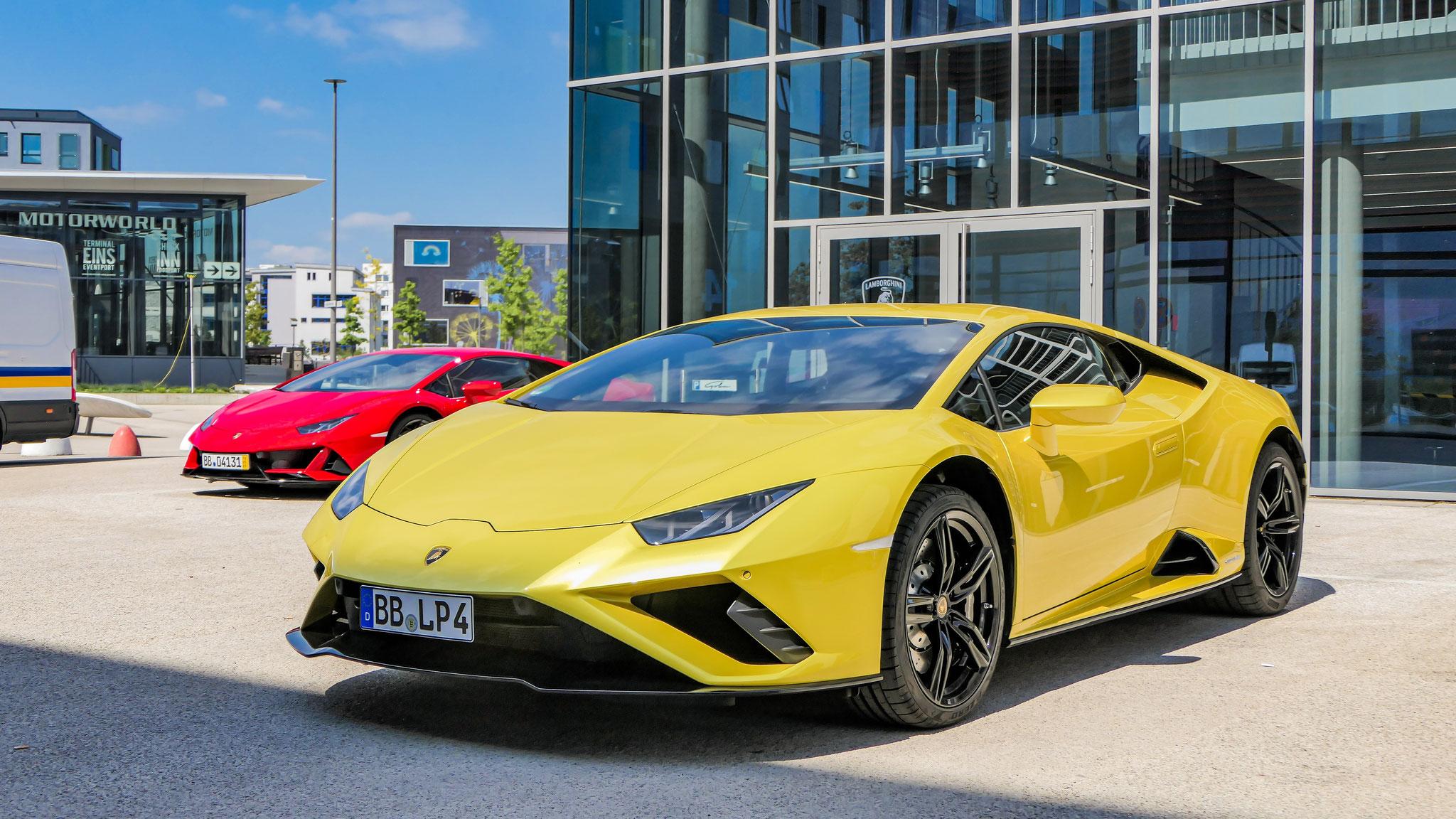Lamborghini Huracan Evo RWD - BB-LP-4