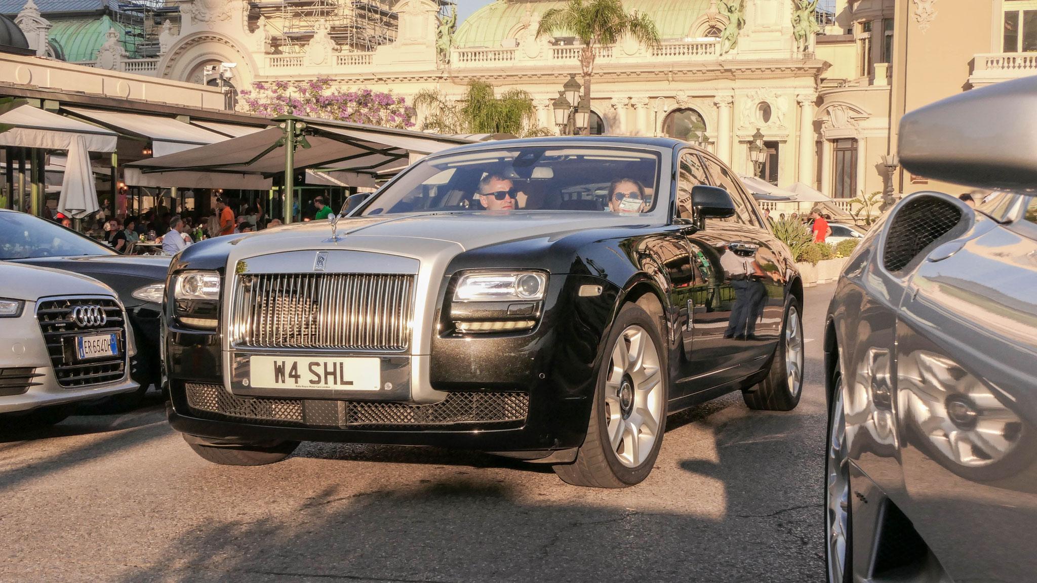 Rolls Royce Ghost - W4-SHL (GB)