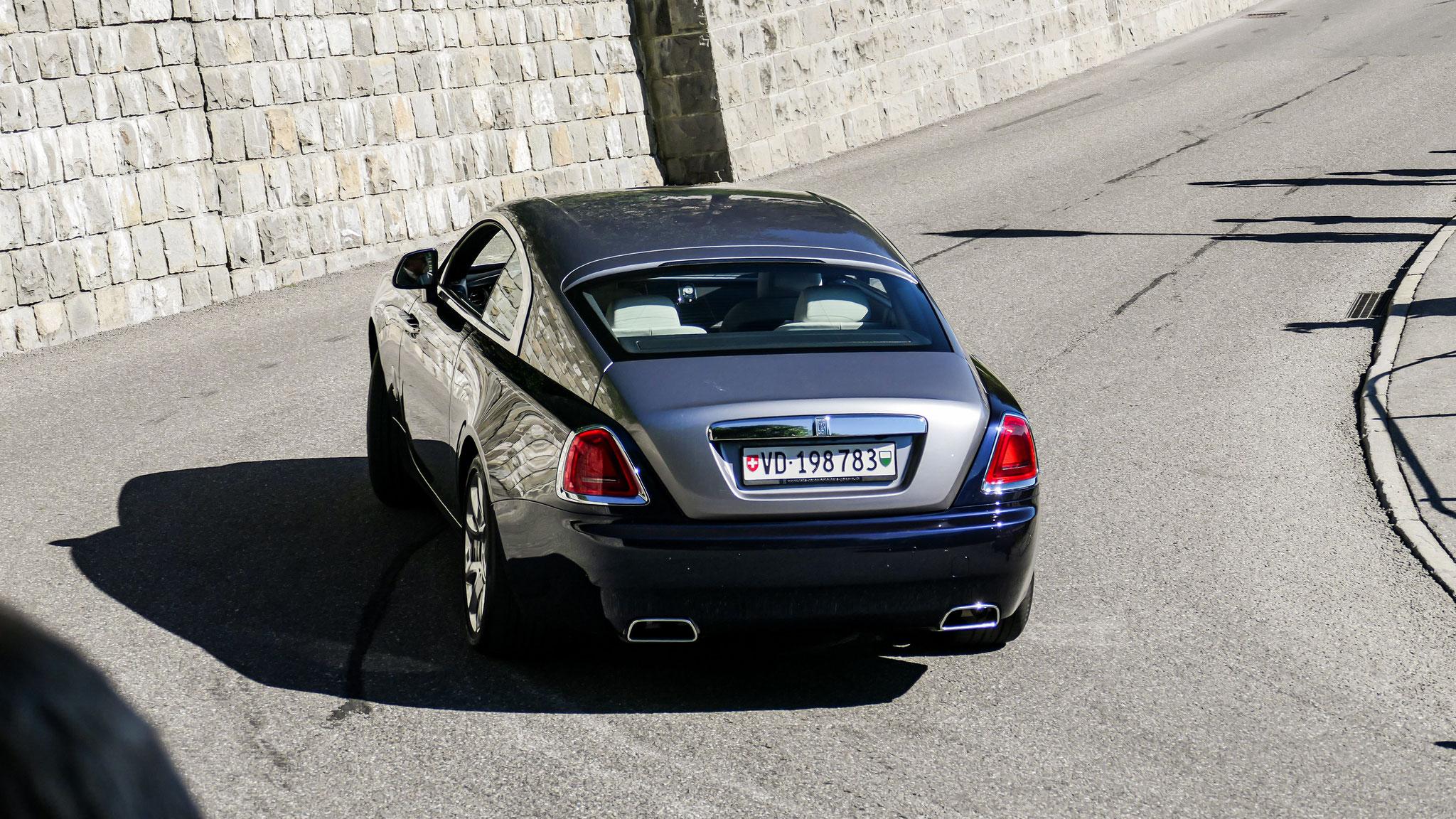 Rolls Royce Wraith - VD-198753 (CH)