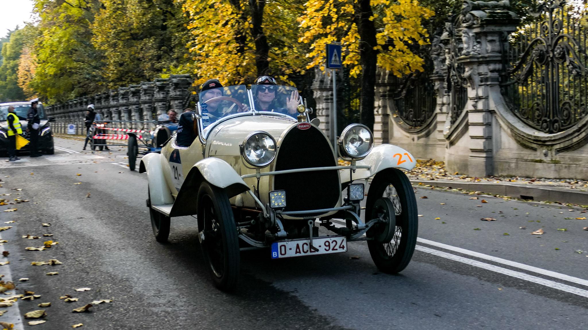 Bugatti Type 23 Brescia - 0-ACL-924 (BEL)