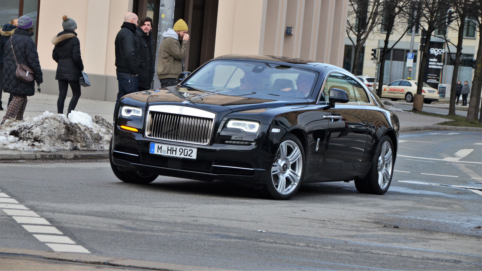 Rolls Royce Wraith - M-HH-902