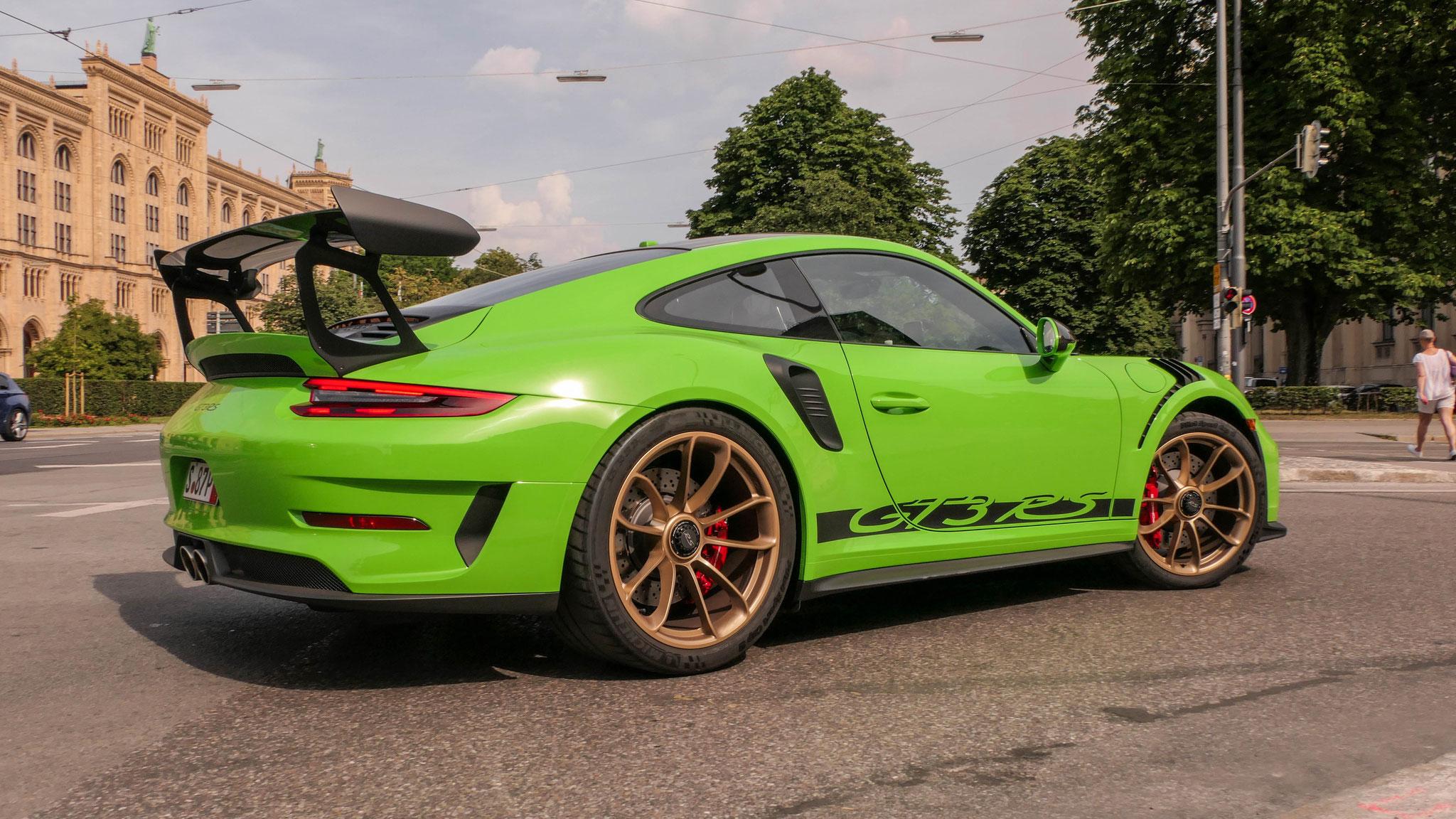 Porsche 911 991.2 GT3 RS - S-87-P