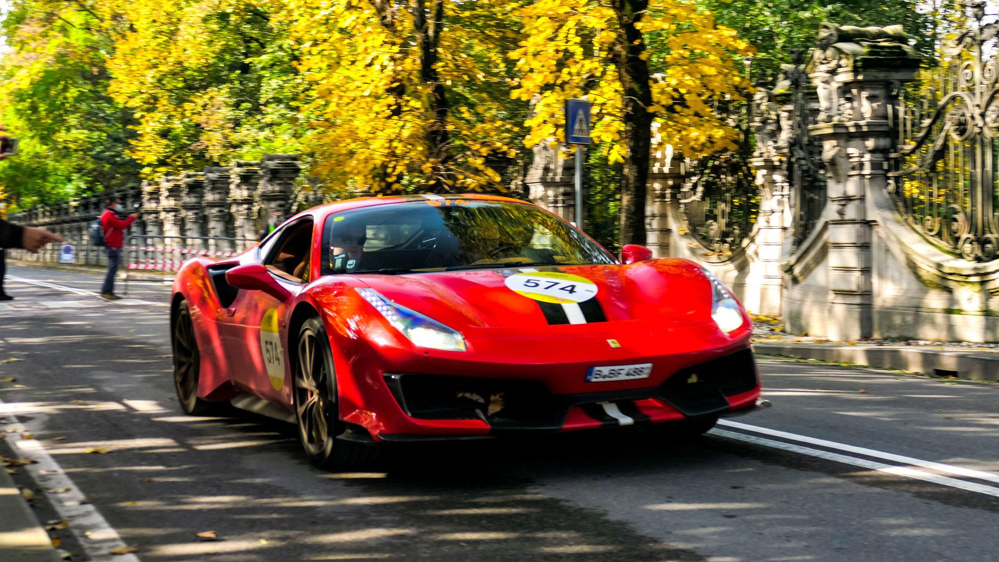 Ferrari 488 Pista - B-BF-488