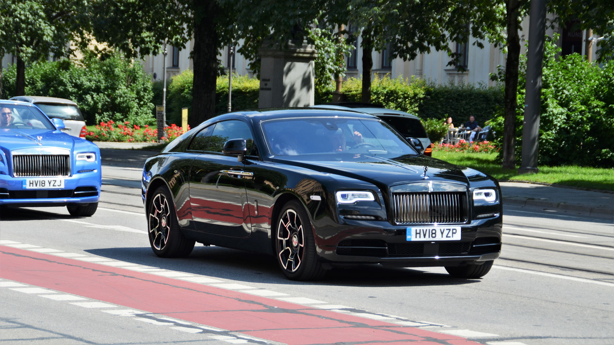 Rolls Royce Wraith Black Badge - HV18-YZP (GB)