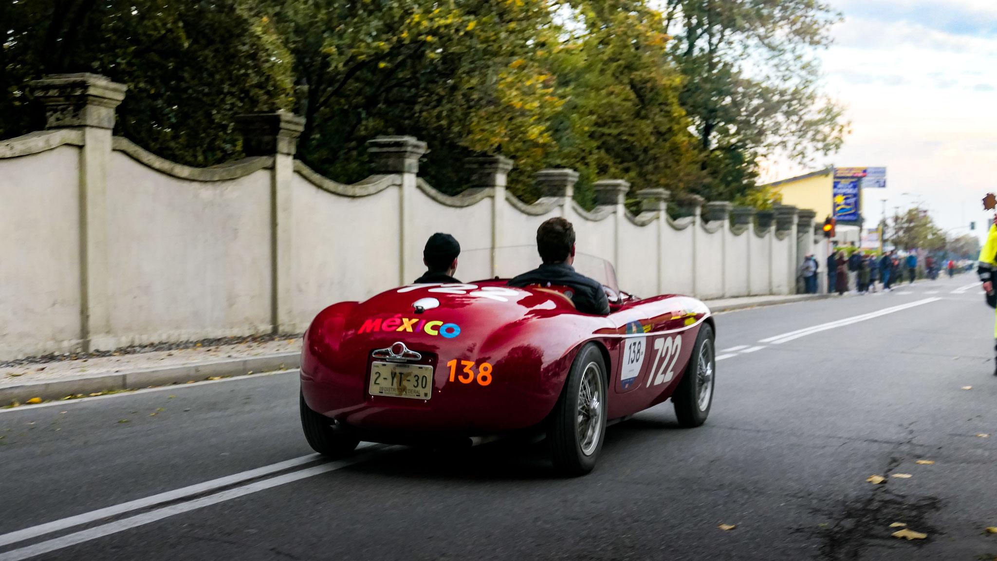 Ferrari 166 Inter Spider Corsa Ansaoloni - 2-YT-30 (MEX)