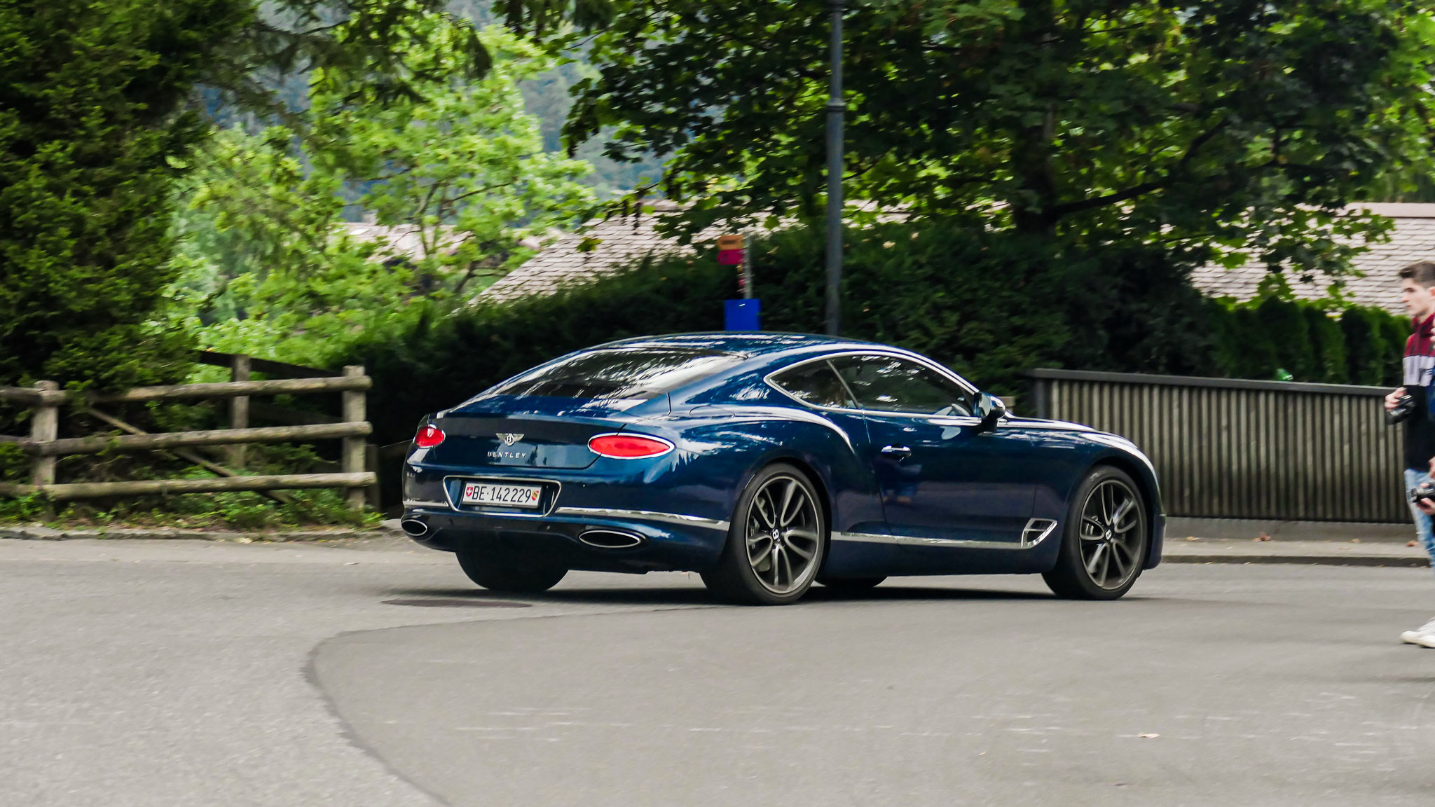 Bentley Continental GT - BE-142229 (CH)