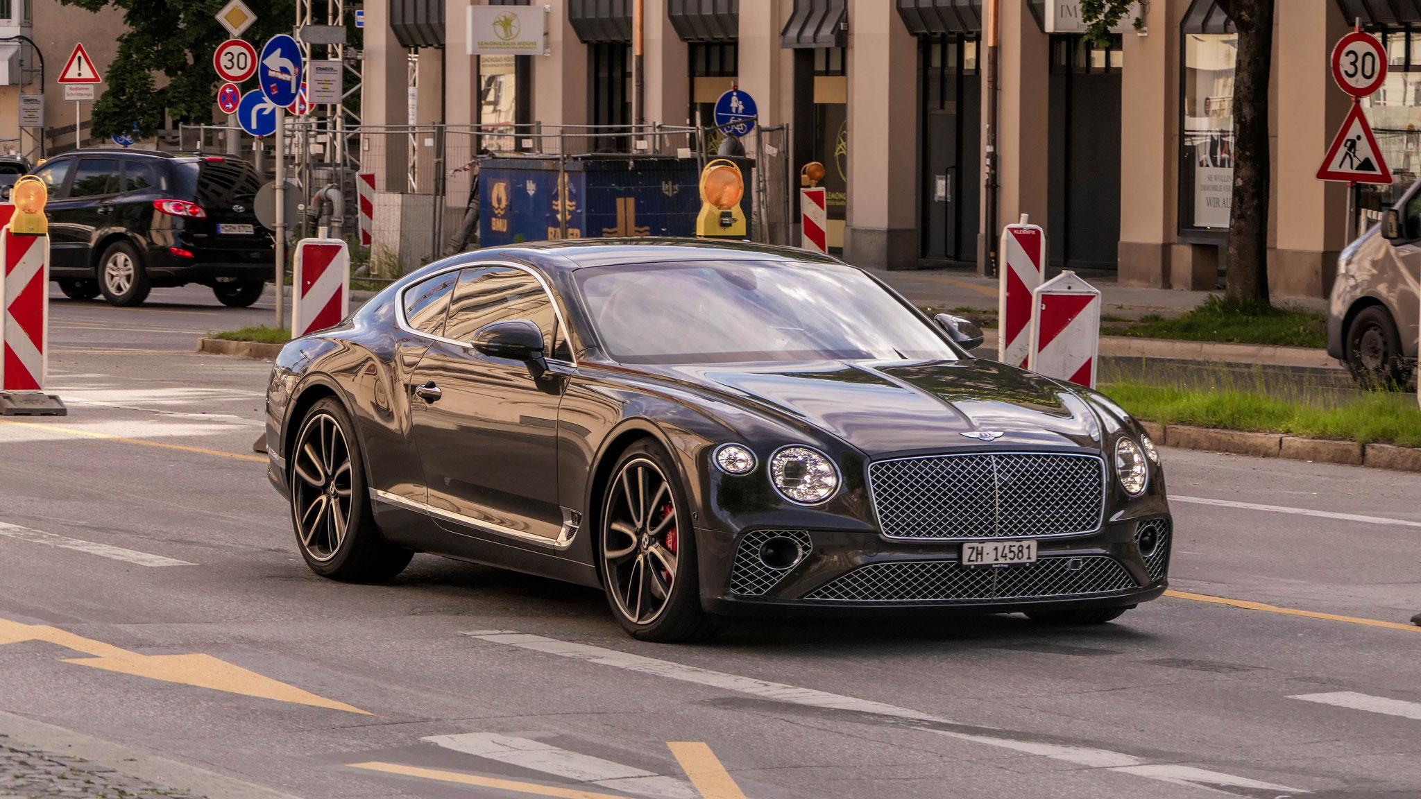 Bentley Continental GT - ZH-14581 (CH),
