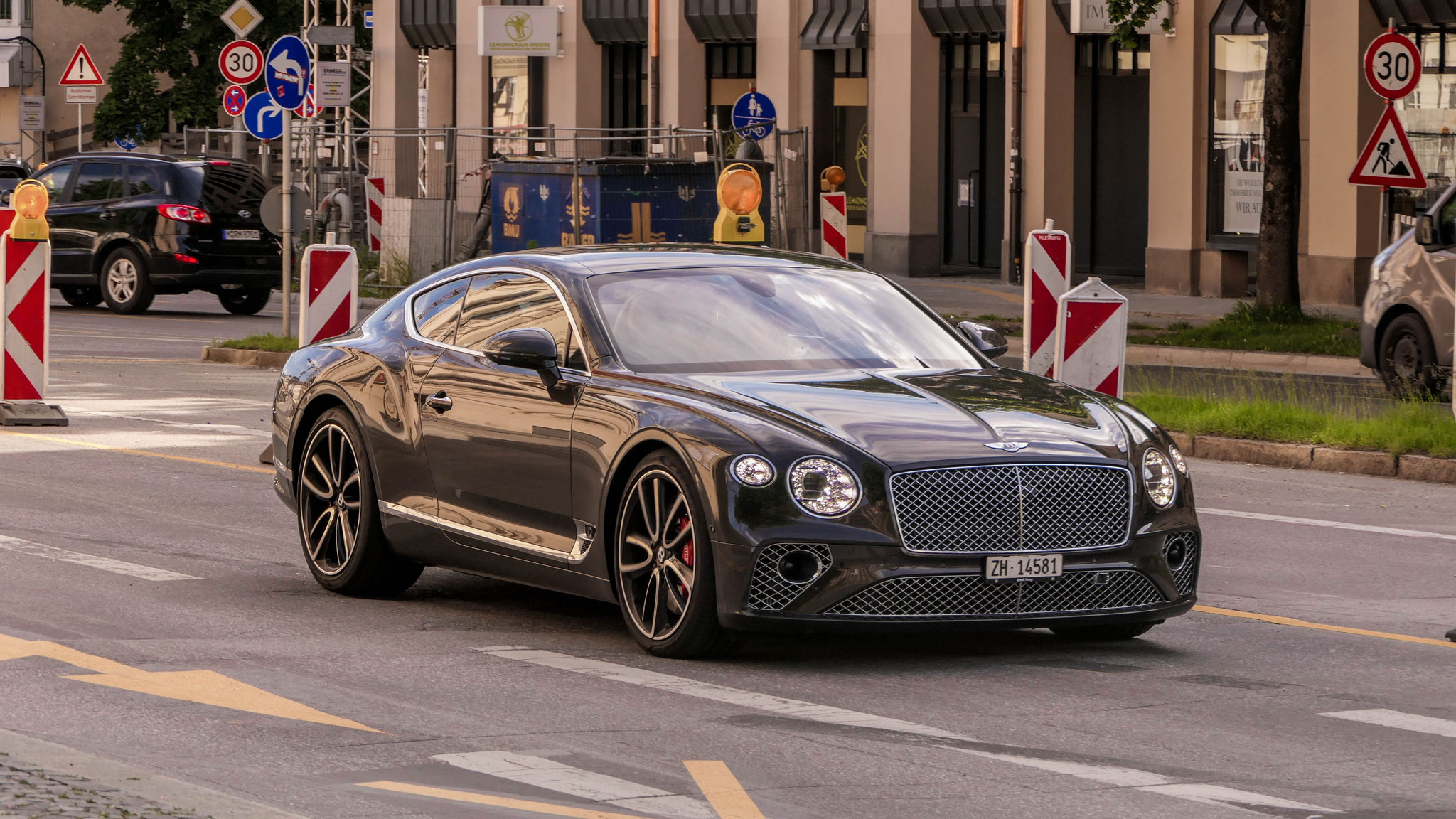 Bentley Continental GT - ZH-14581 (CH)