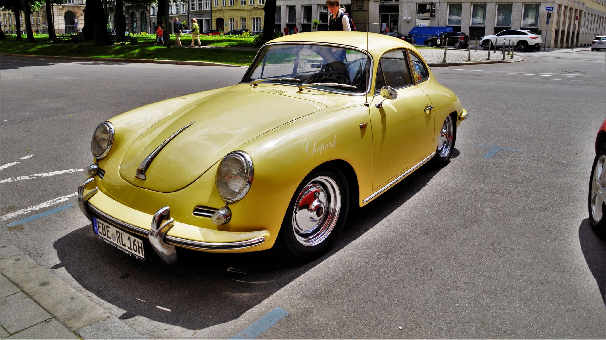 Porsche 356 1600S - EBE-RL-16H