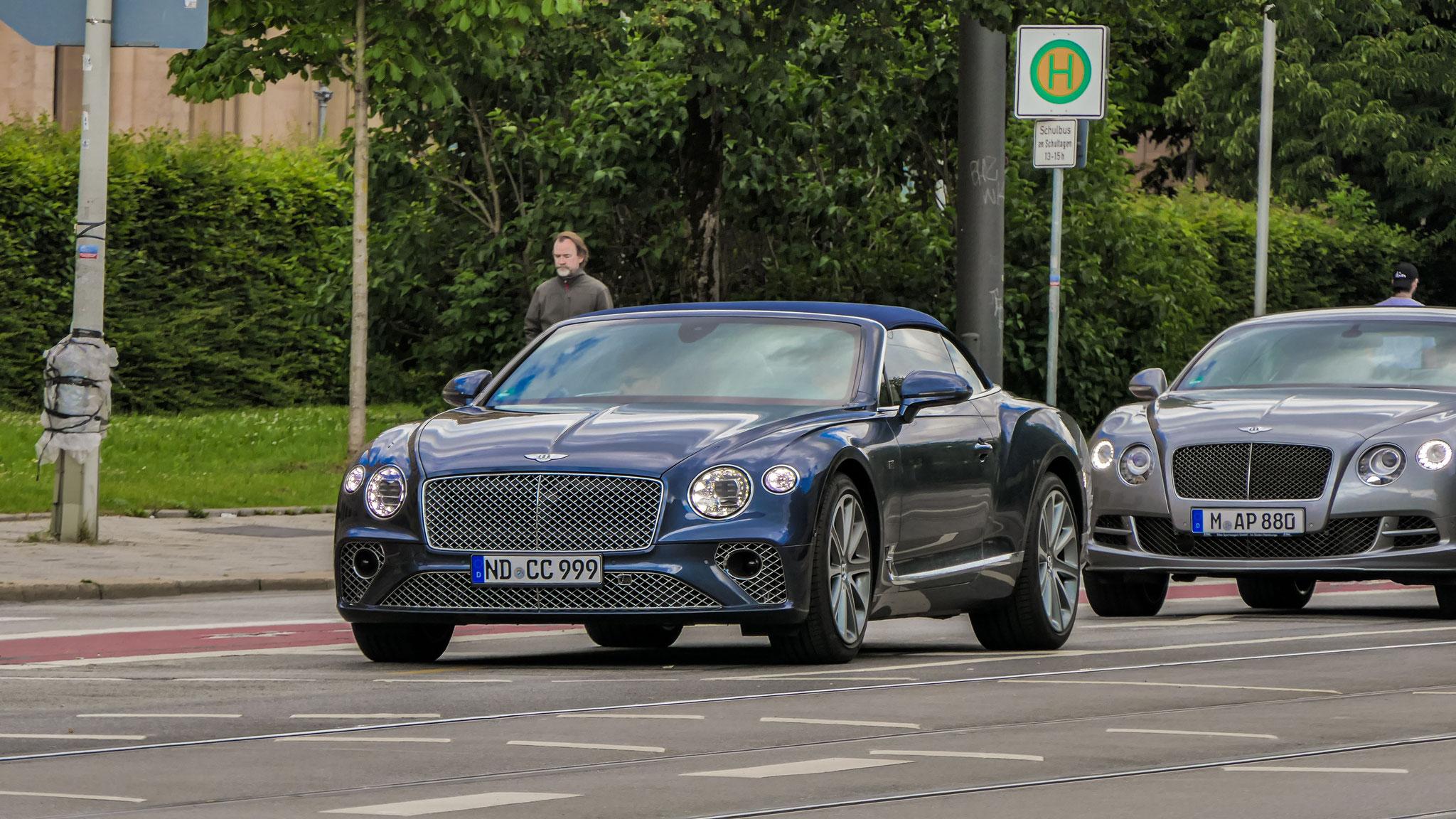 Bentley Continental GTC - ND-CC-999