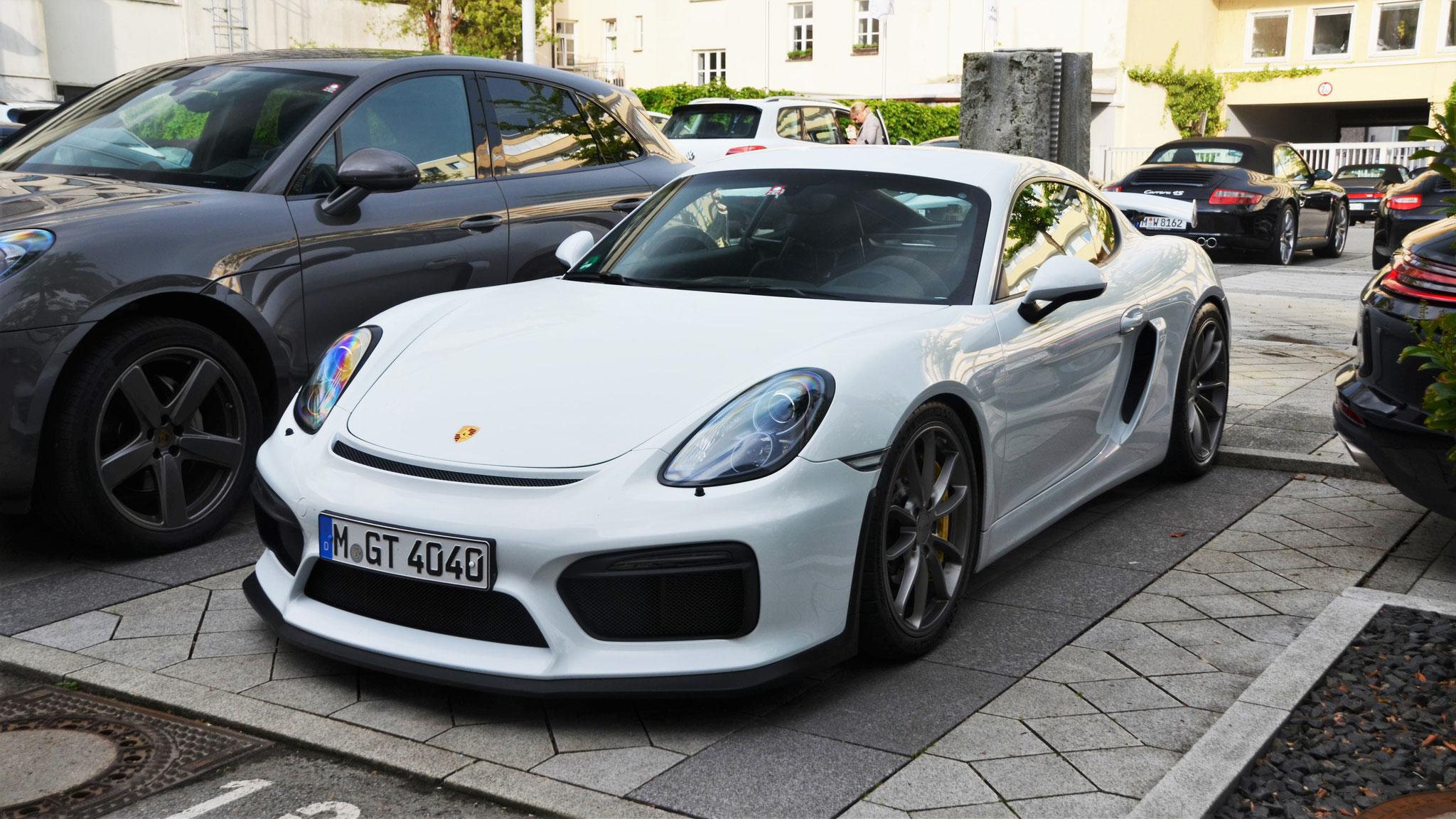Porsche Cayman GT4 - M-GT-4040