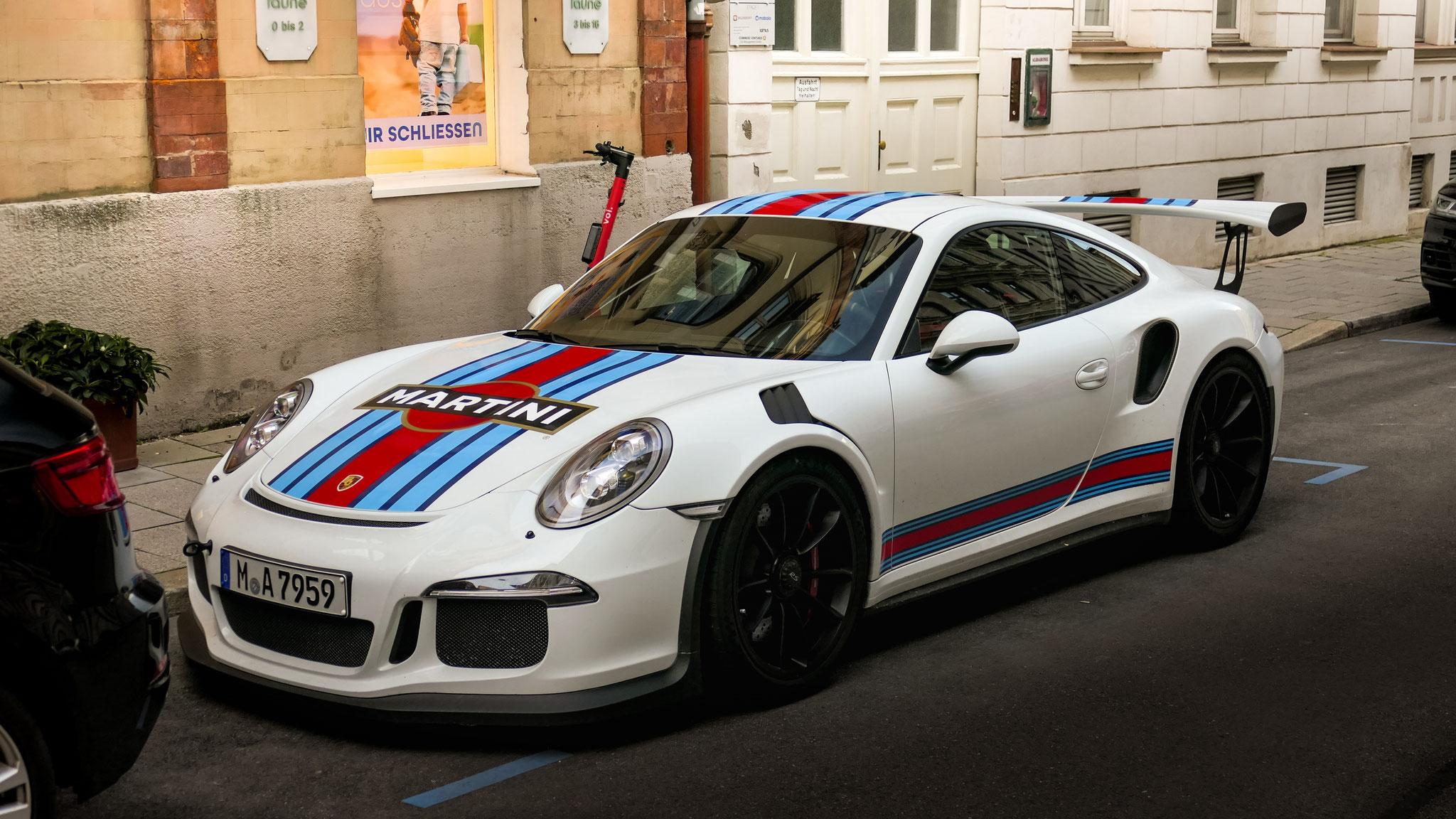 Porsche 911 GT3 RS - M-A-7959
