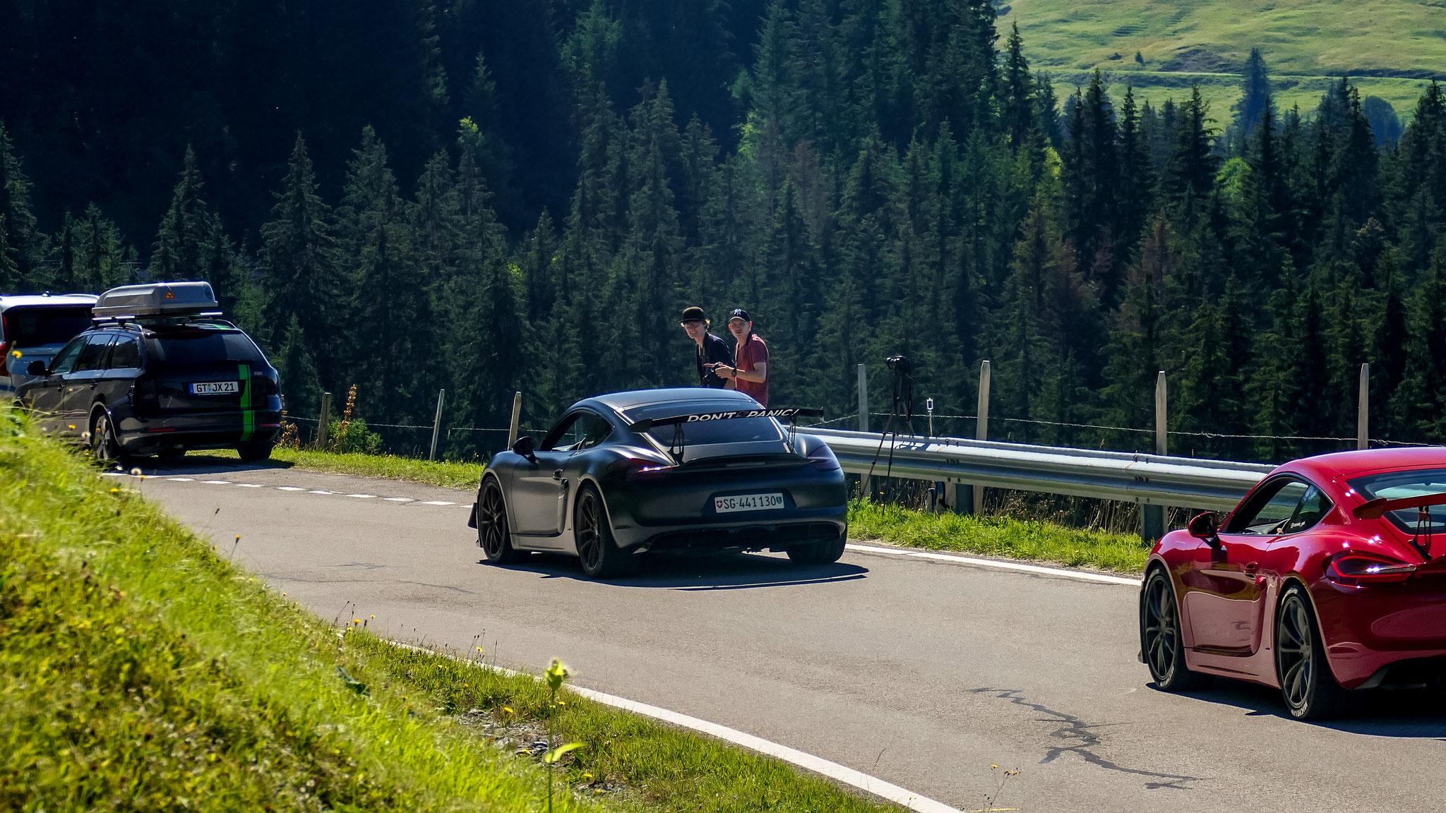 Porsche Cayman GT4 - SG-441130 (CH)