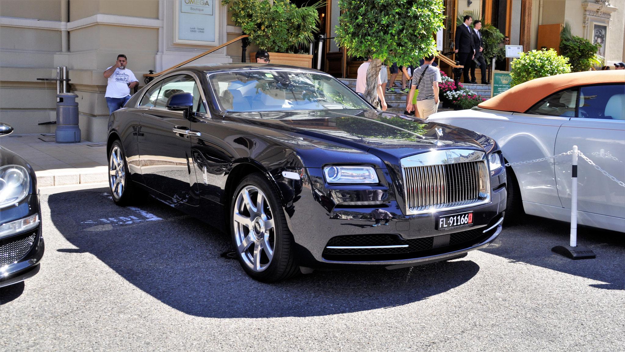 Rolls Royce Wraith - FL-91166 (LIC)