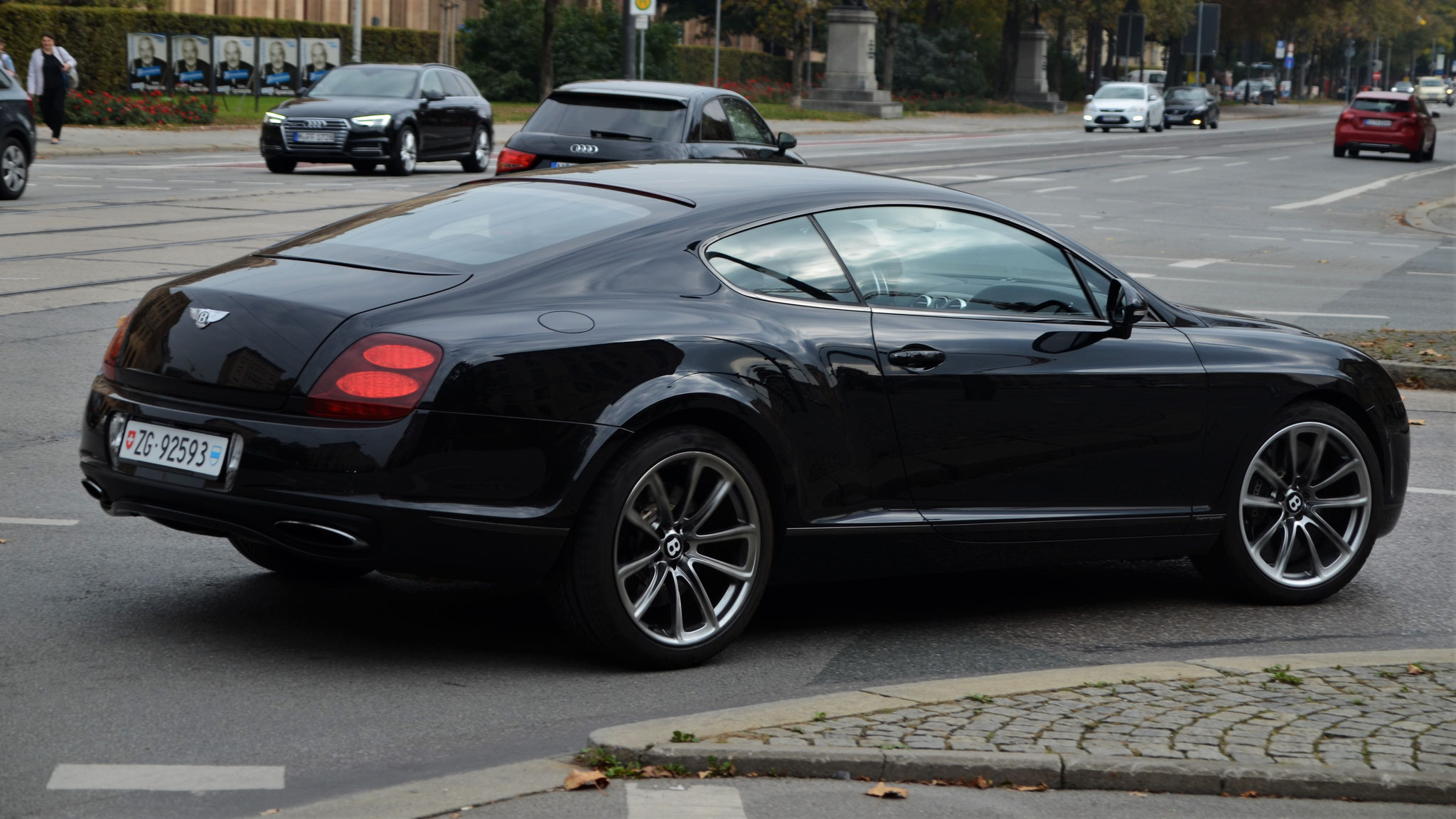 Bentley Continental GT Supersports - ZG-92593 (CH)