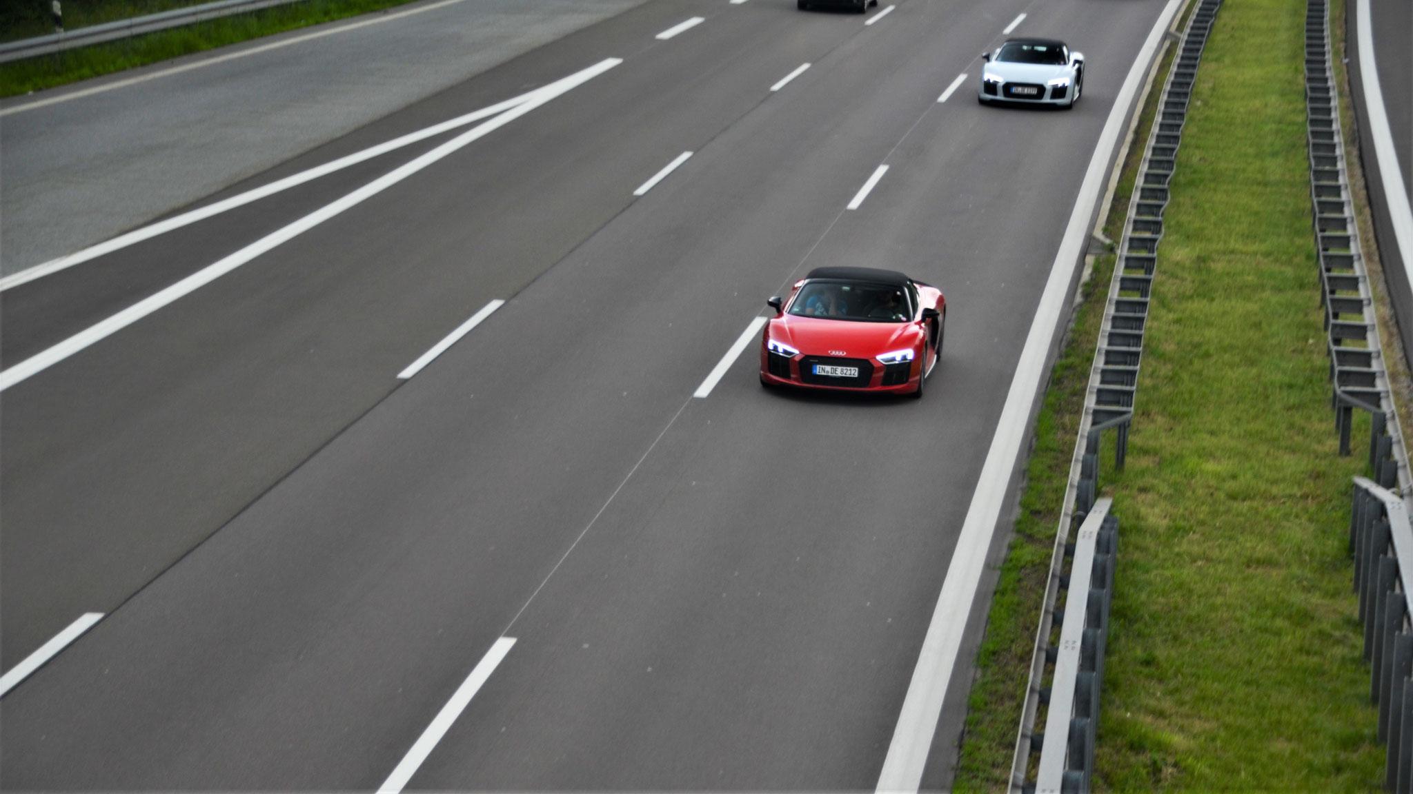 Audi R8 V10 Spyder - IN-DE-8212