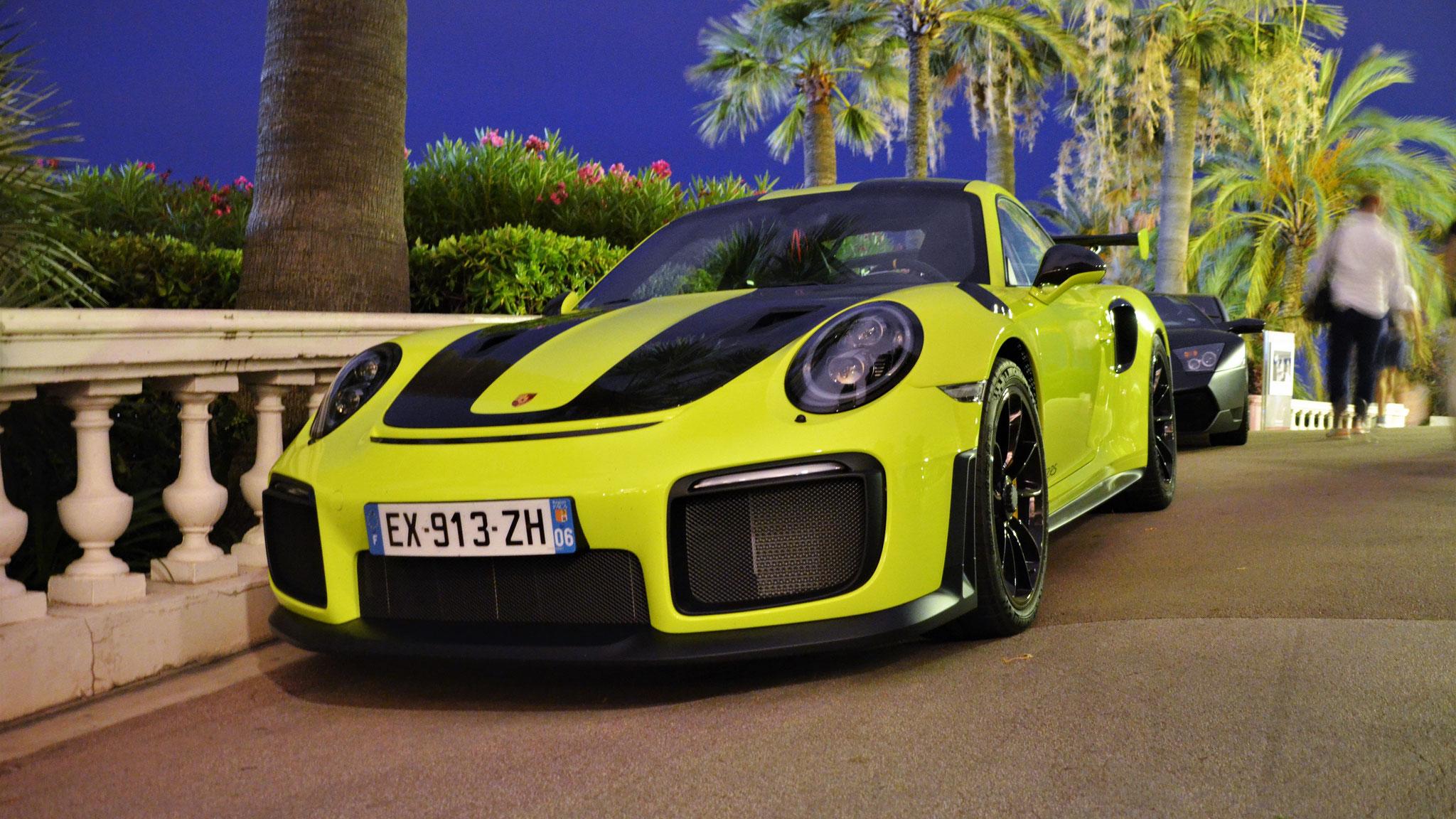 Porsche GT2 RS - EX-913-ZH-06 (FRA)