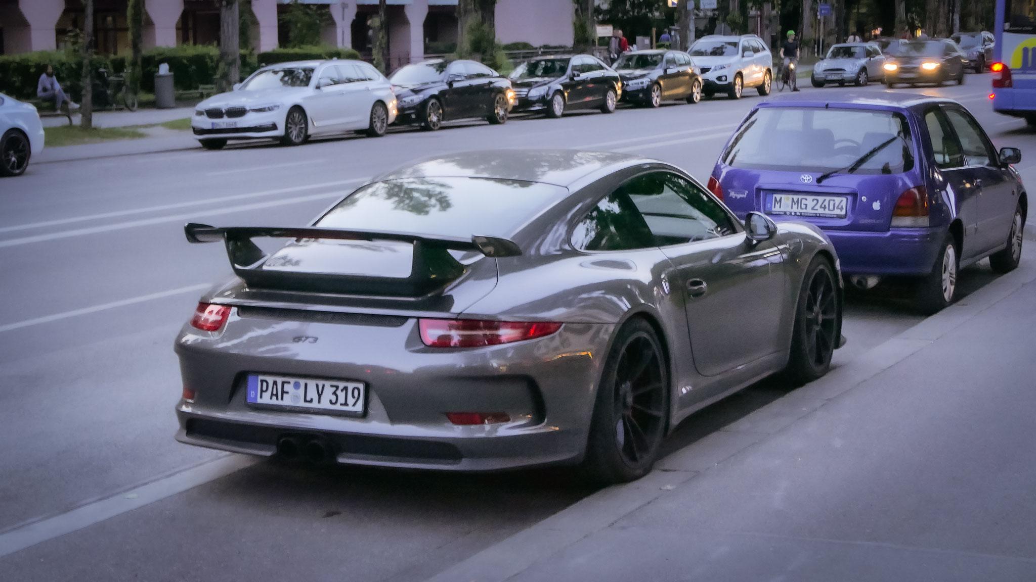 Porsche 991 GT3 - PAF-LY-319