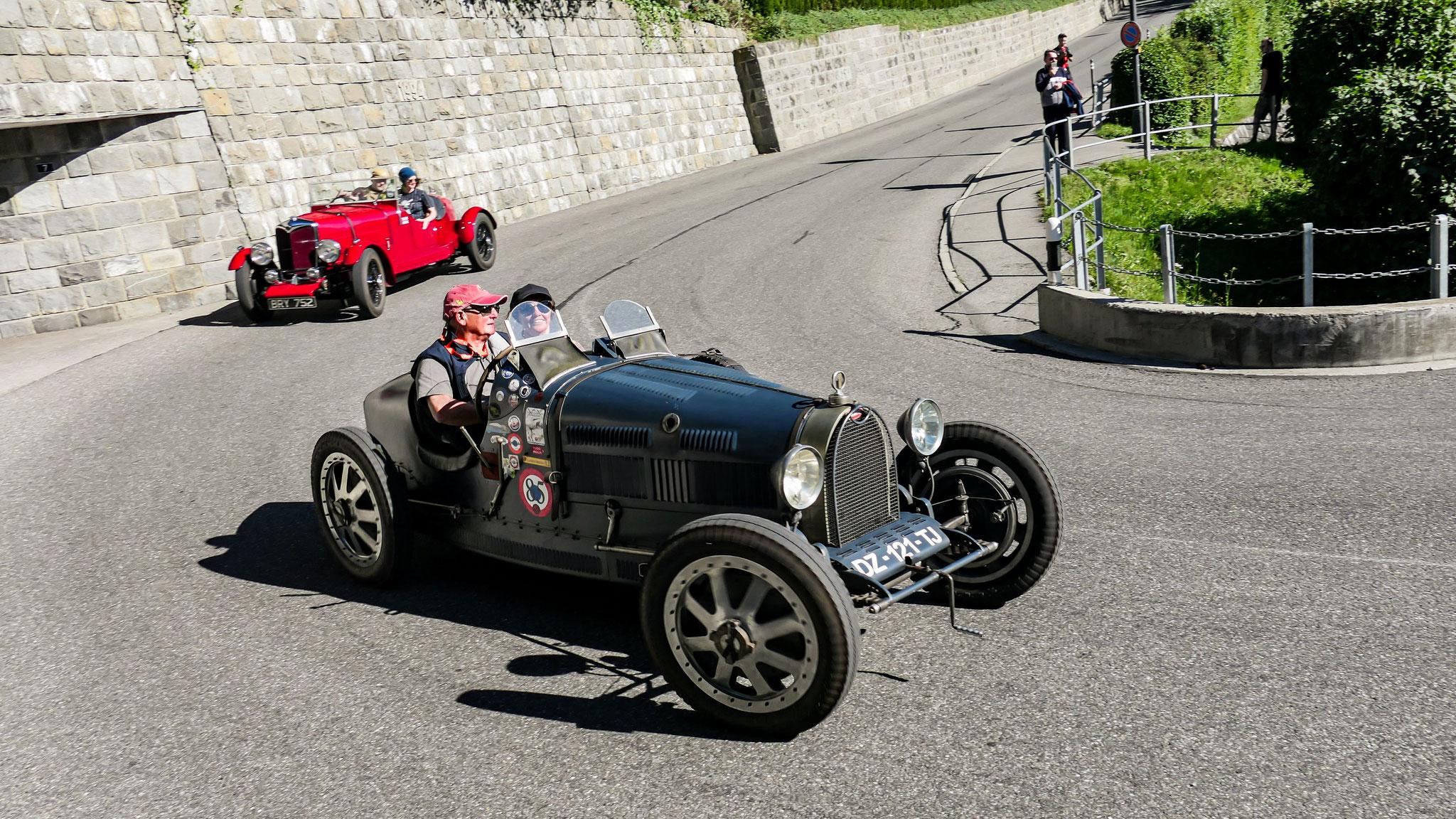 Bugatti Type 35 - DZ-121-TJ (ITA)