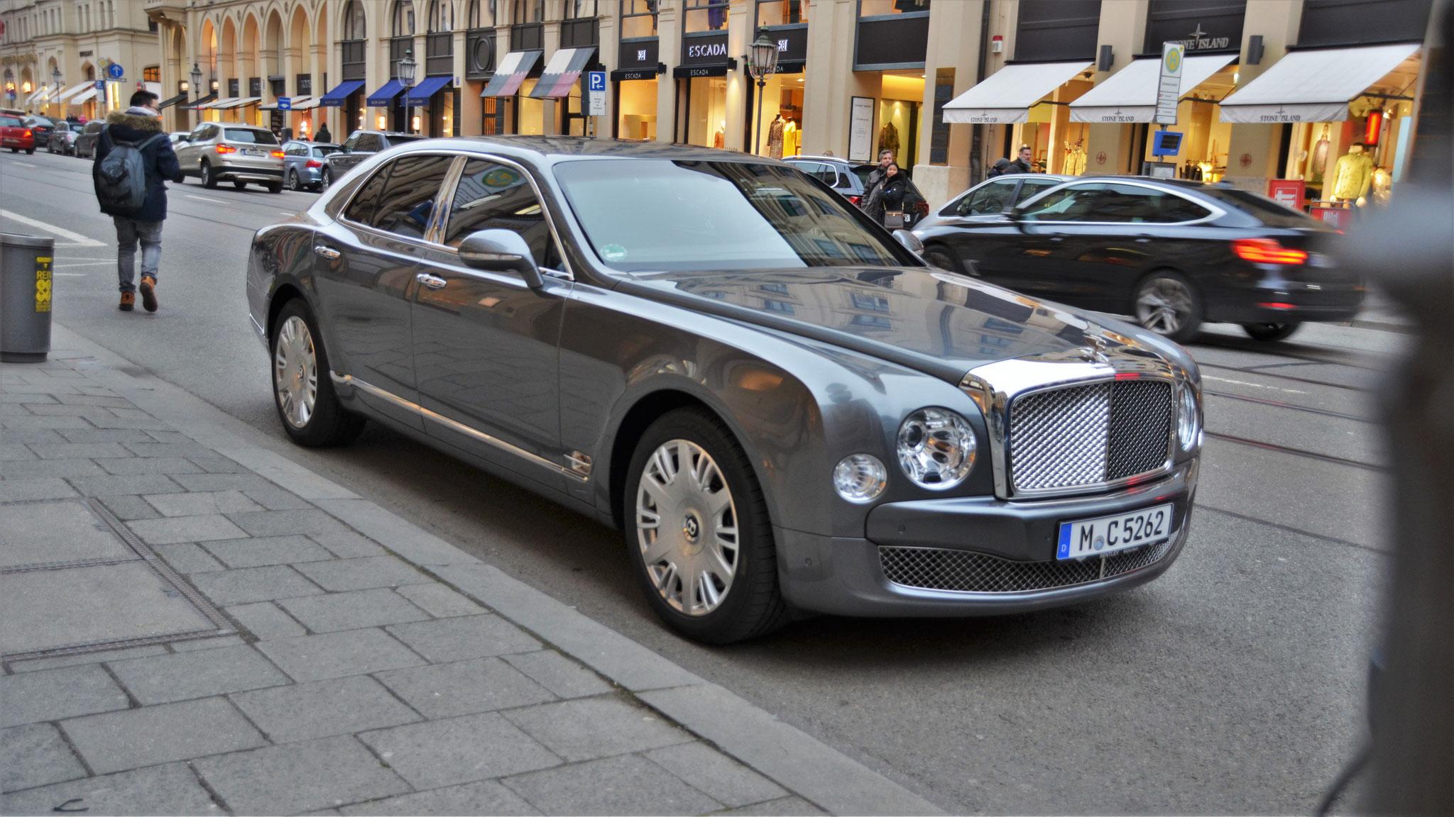 Bentley Mulsanne - M-C-5262