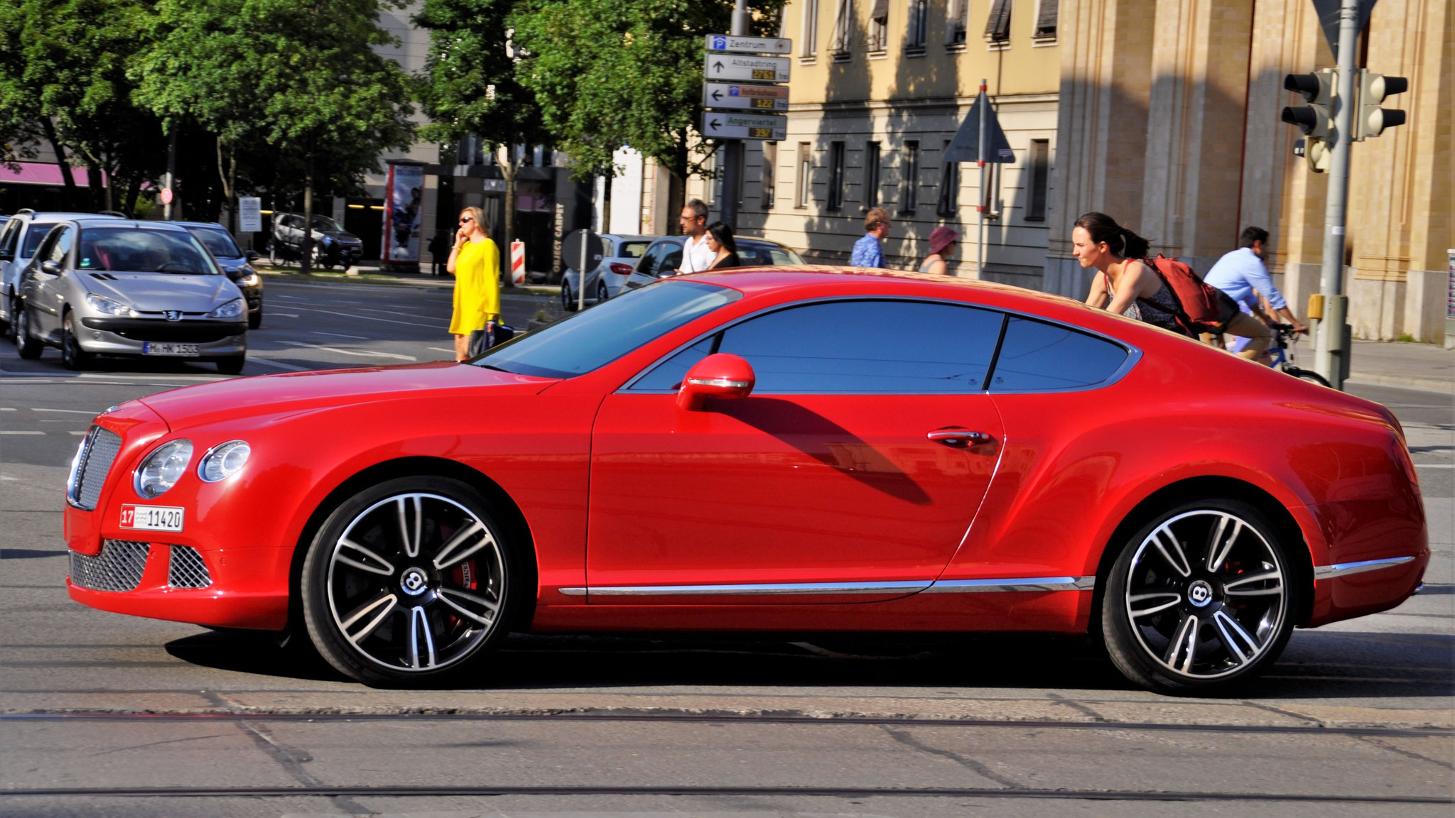 Bentley Continental GT - 17-11420 (UAEAD)