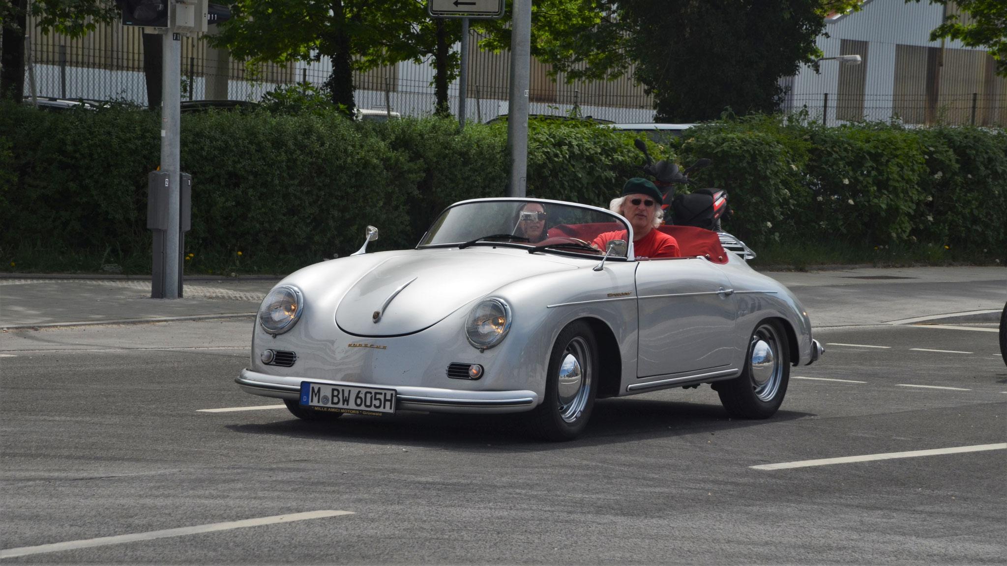 Porsche 356 1600 Super Speedster - M-BW-605H