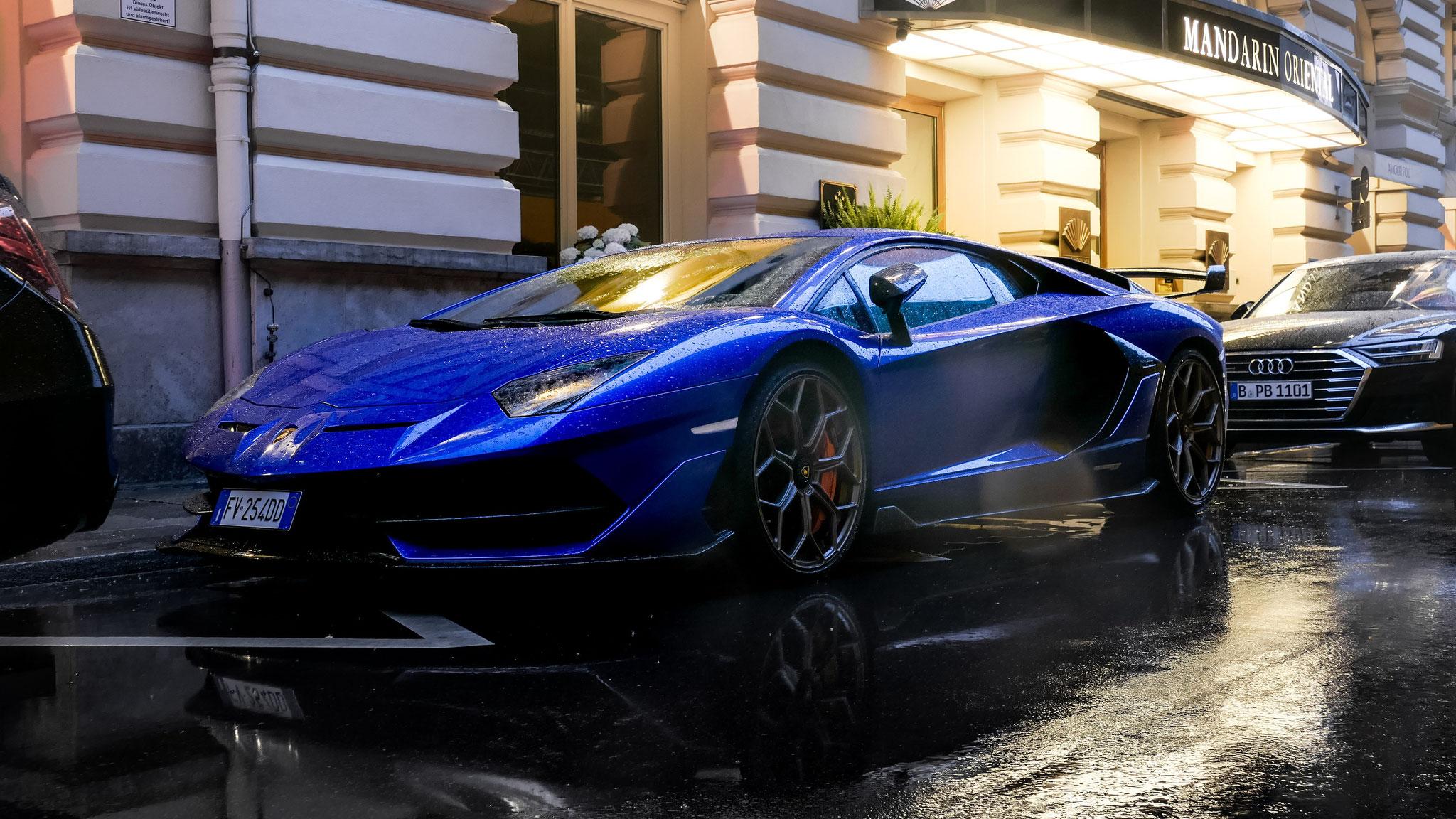 Lamborghini Aventador LP 770 SVJ - FV-254-DD (ITA)