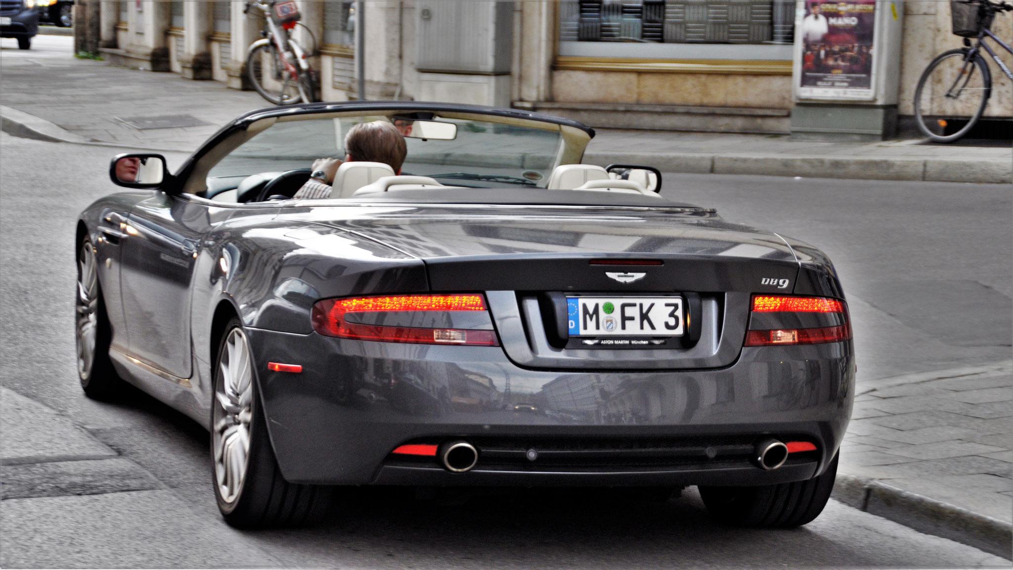 Aston Martin DB9 Volante - M-FK-3