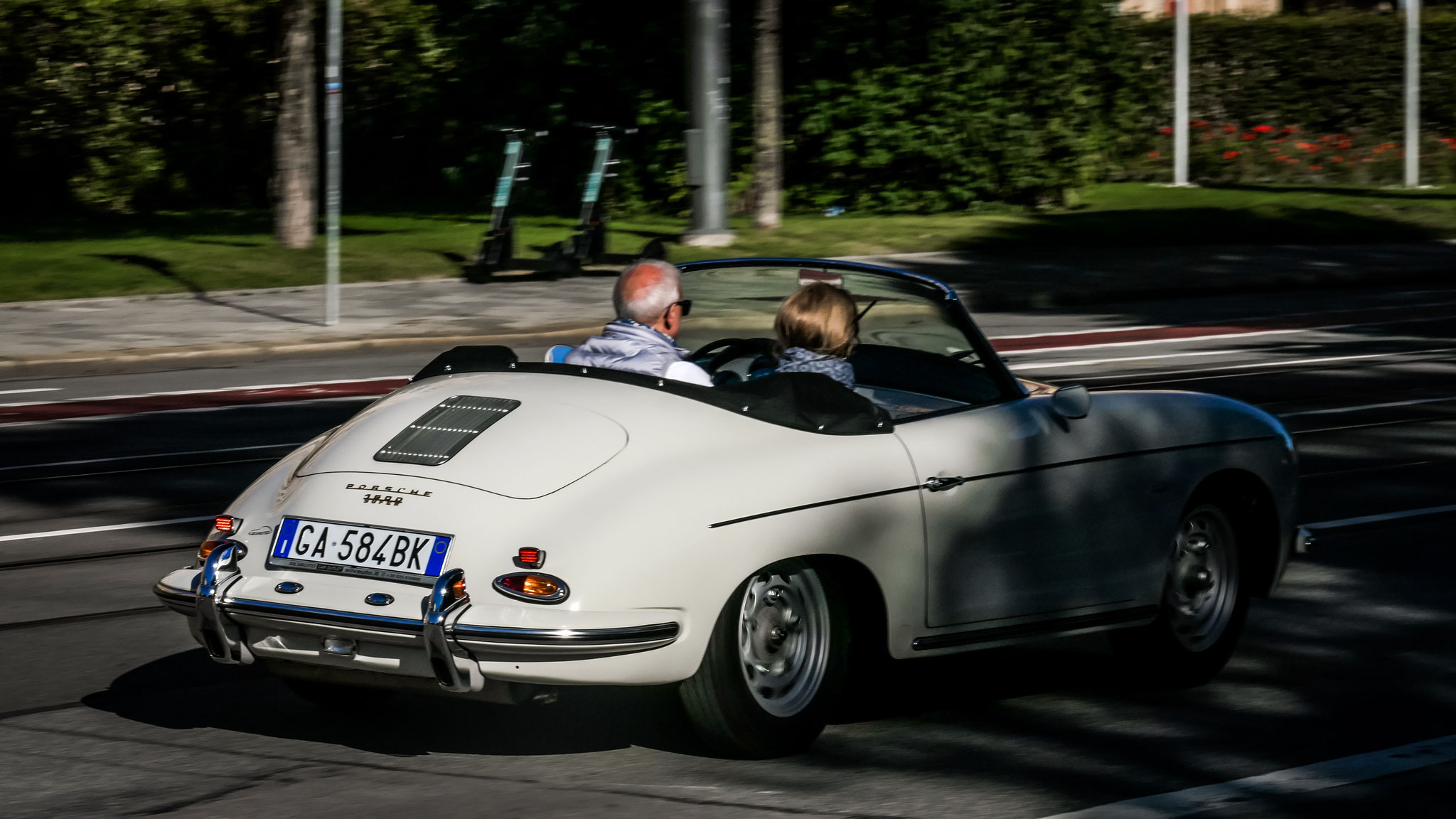 Porsche 356 1600 Super - GA-584-BK (ITA)