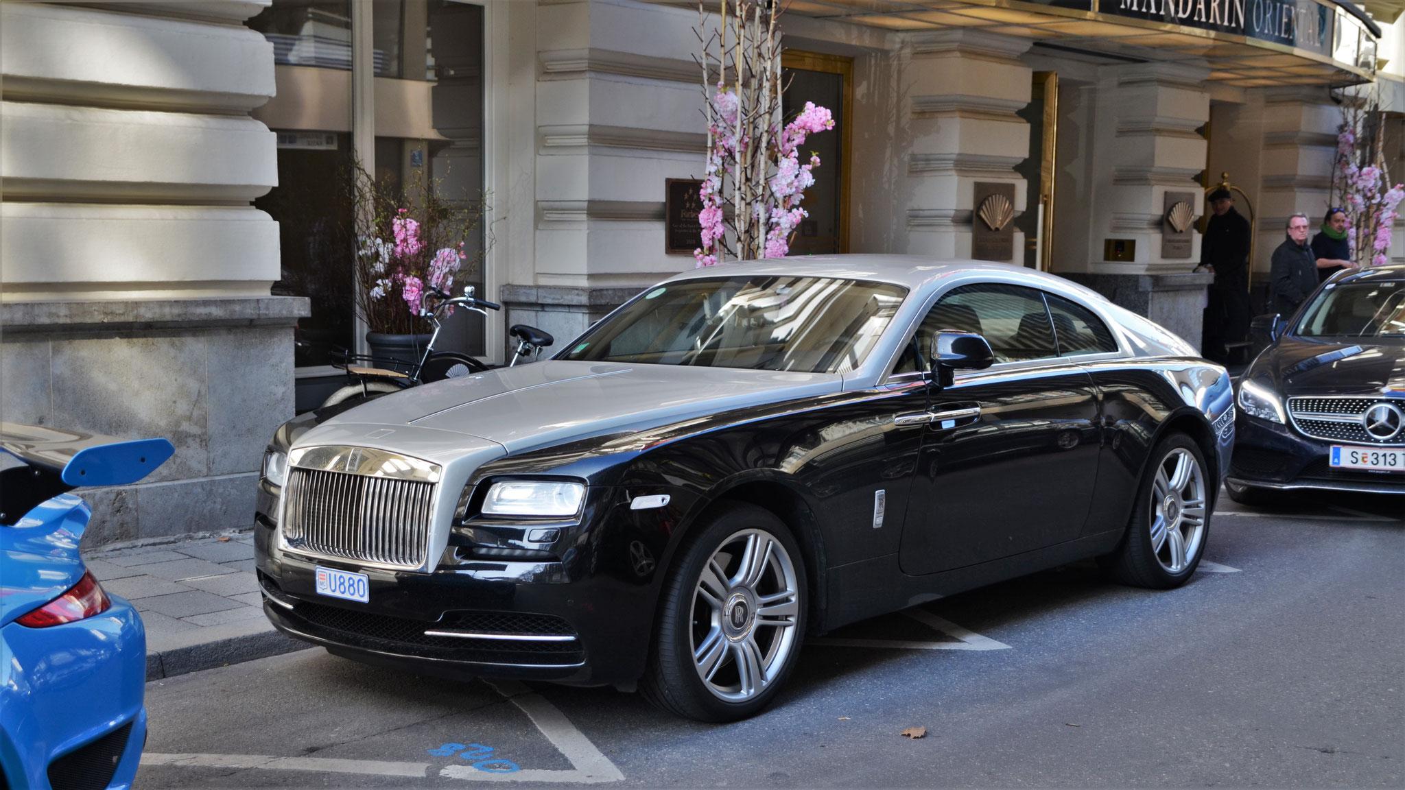 Rolls Royce Wraith - U880 (MC)