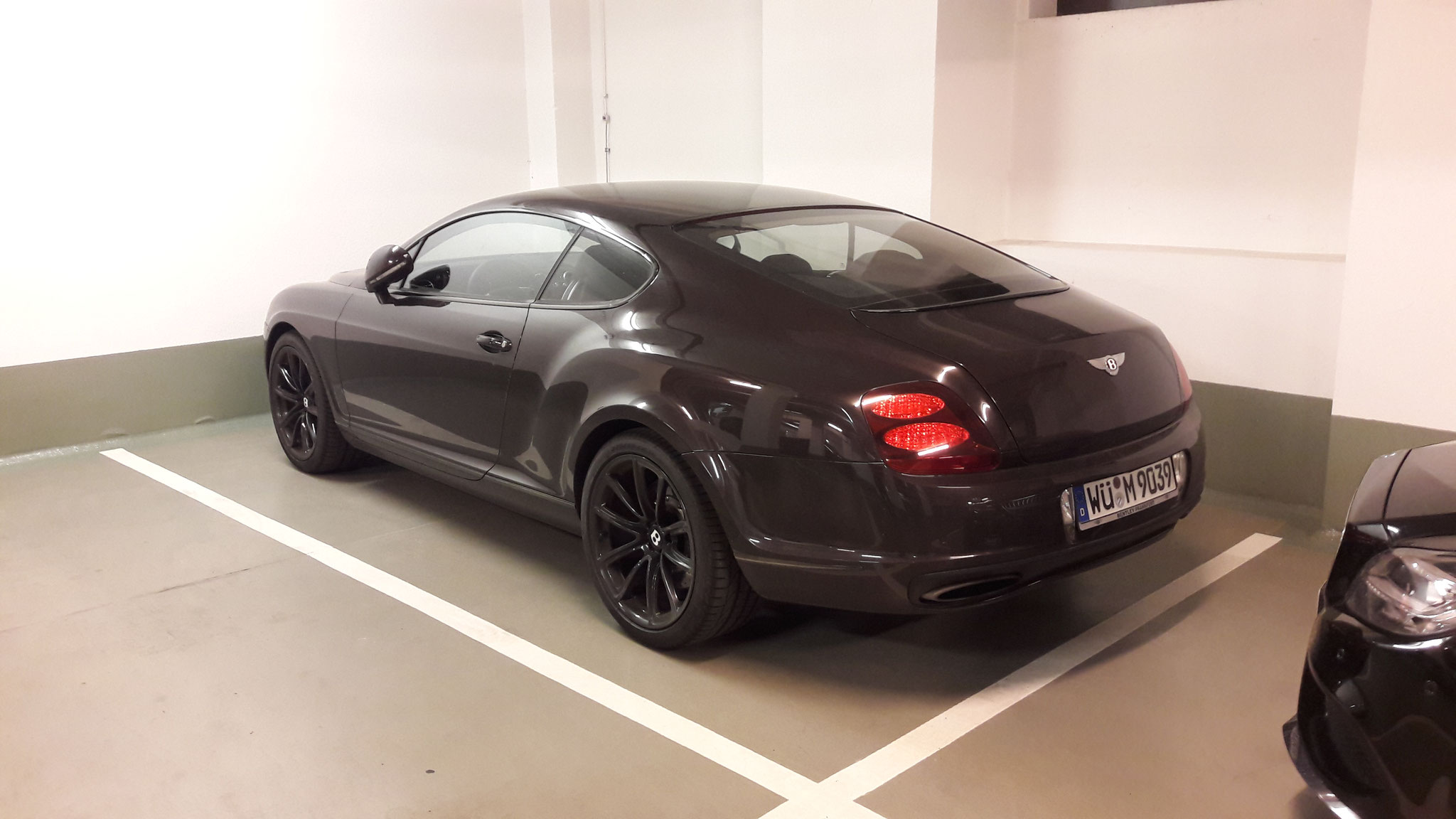 Bentley Continental GT Supersports - WÜ-M-9039