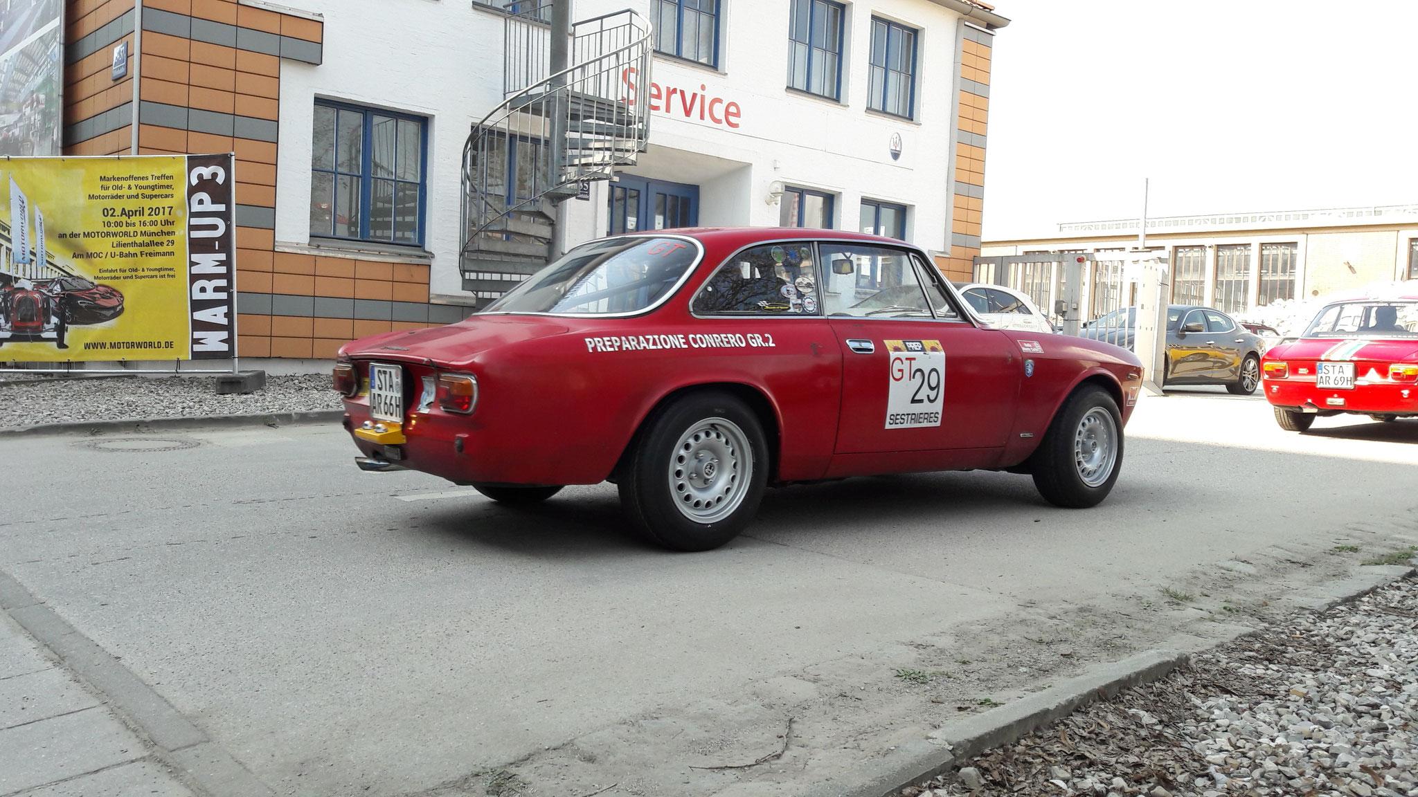 Alfa Romeo Giulia Sprint GT - STA-AR-66H