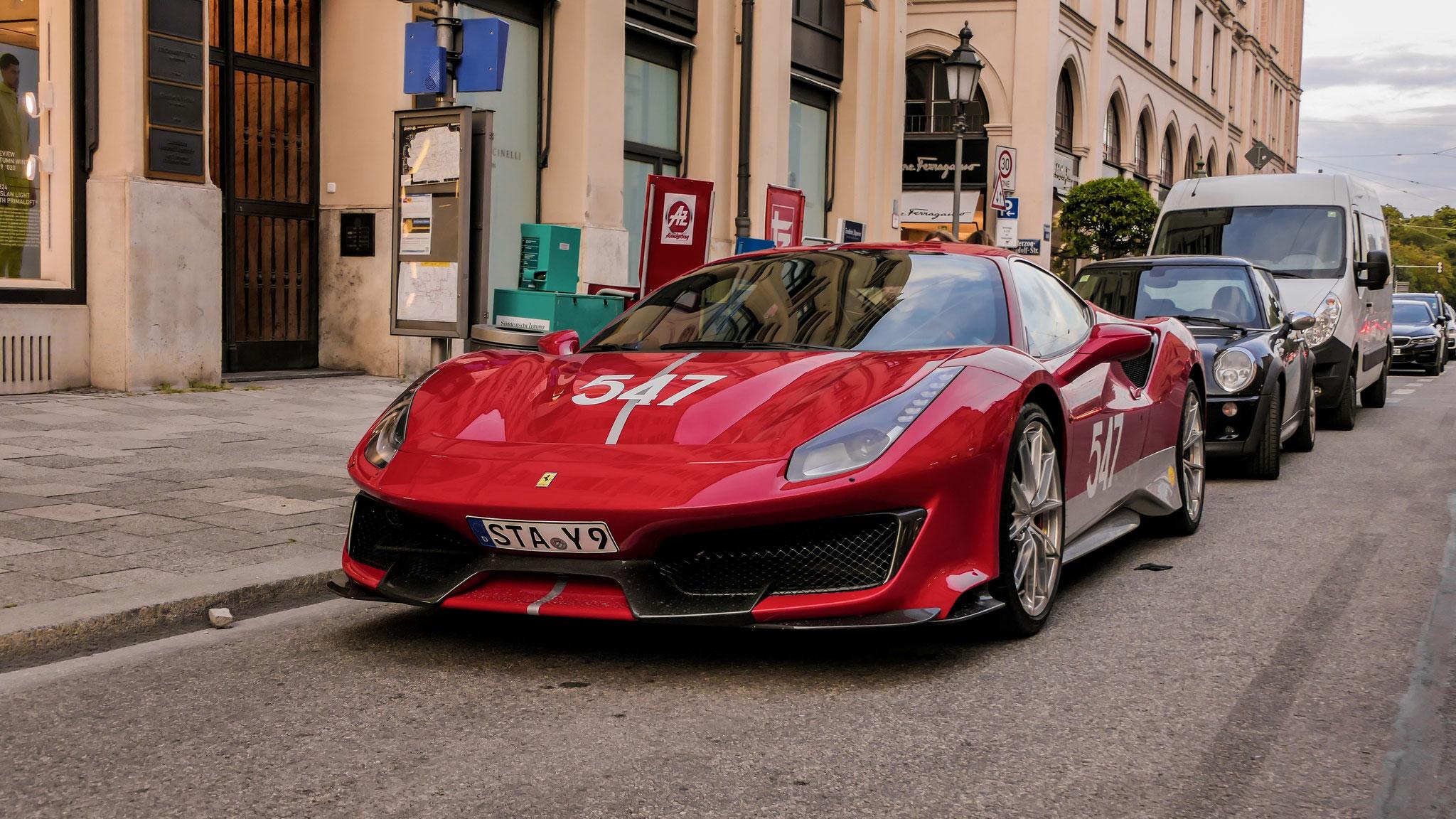 Ferrari 488 Pista - STA-Y-9