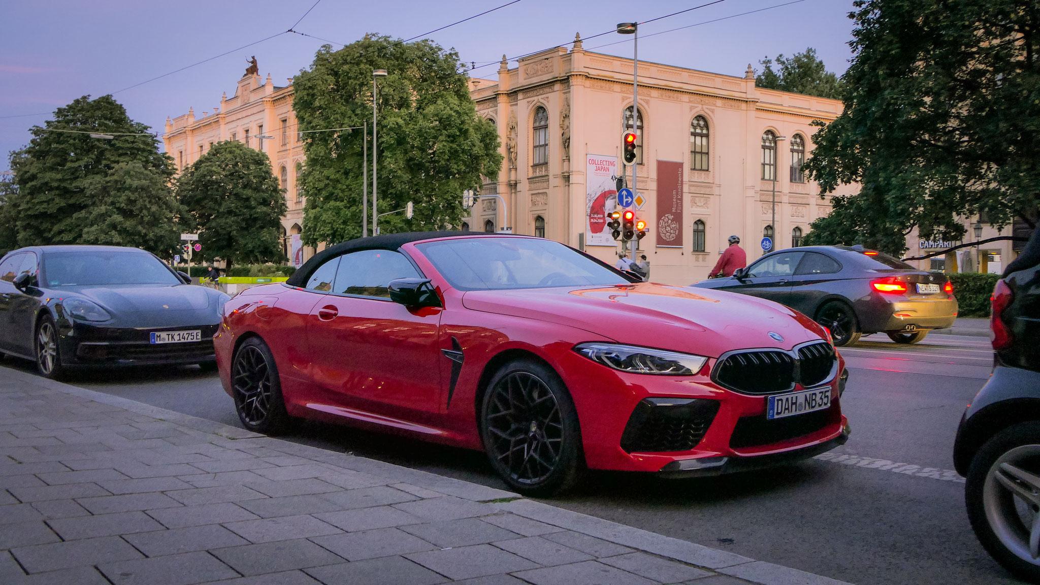 BMW M8 Competition Cabrio - DAH-NB-35