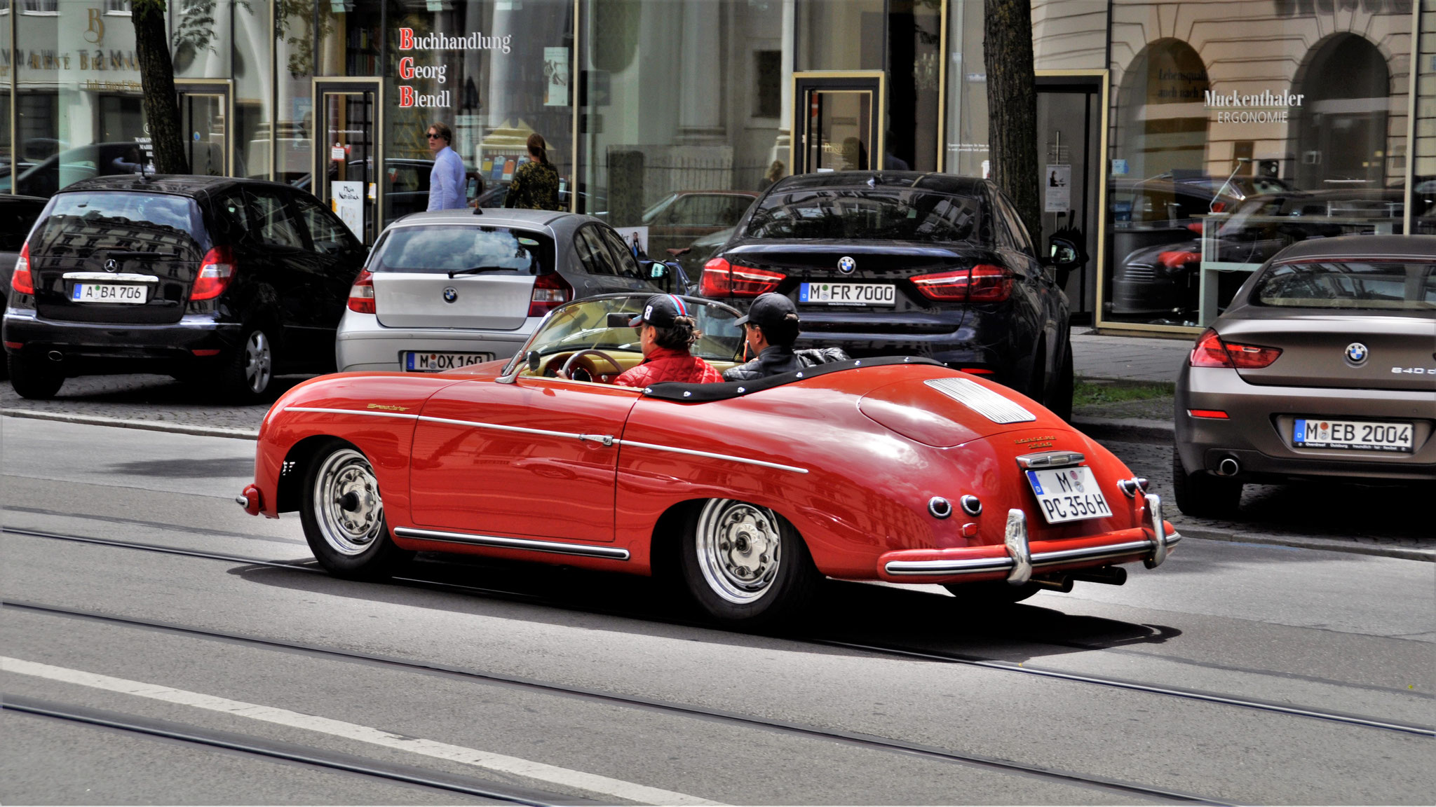 Porsche 356 1500 Speedster - M-PC-356H