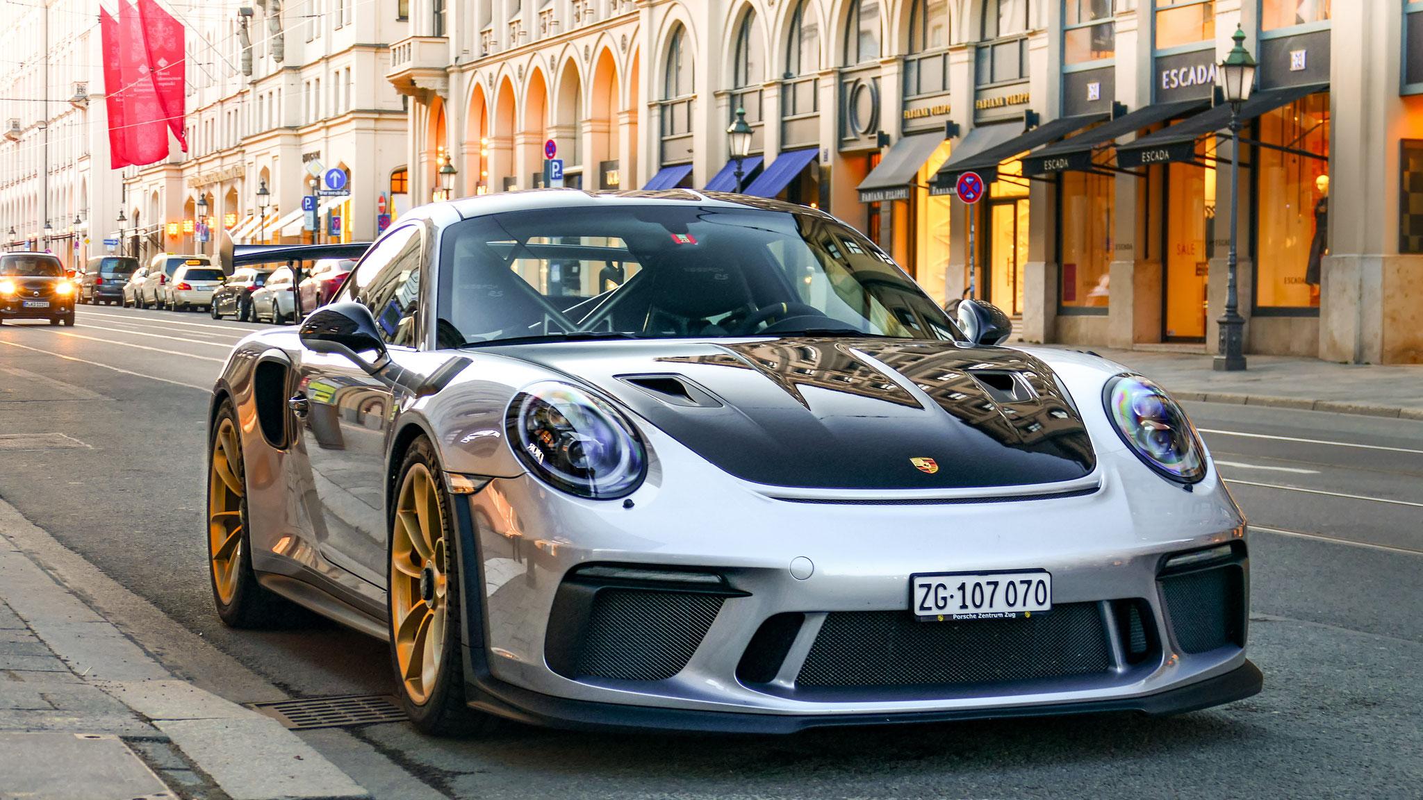 Porsche 911 991.2 GT3 RS - ZG-107070 (CH)