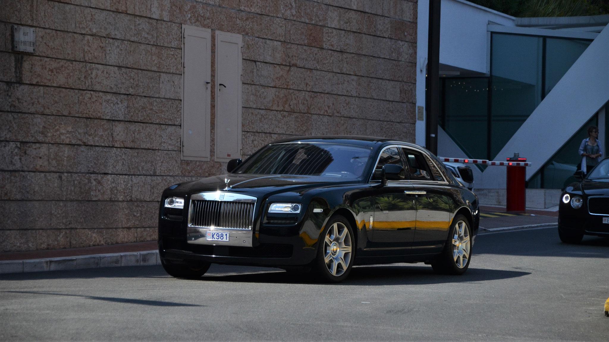 Rolls Royce Ghost - K981 (MC)