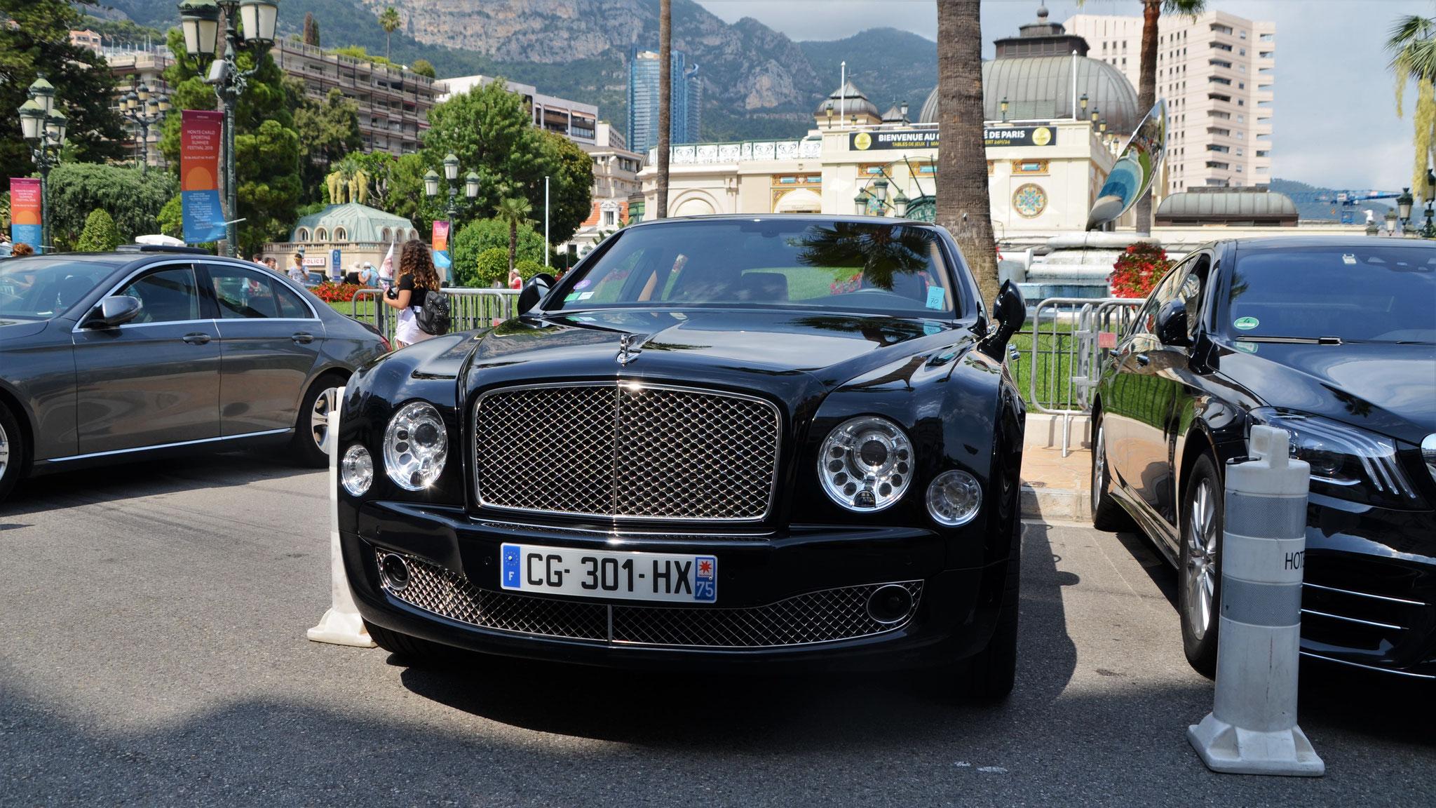 Bentley Mulsanne - CG-301-HX-75 (FRA)