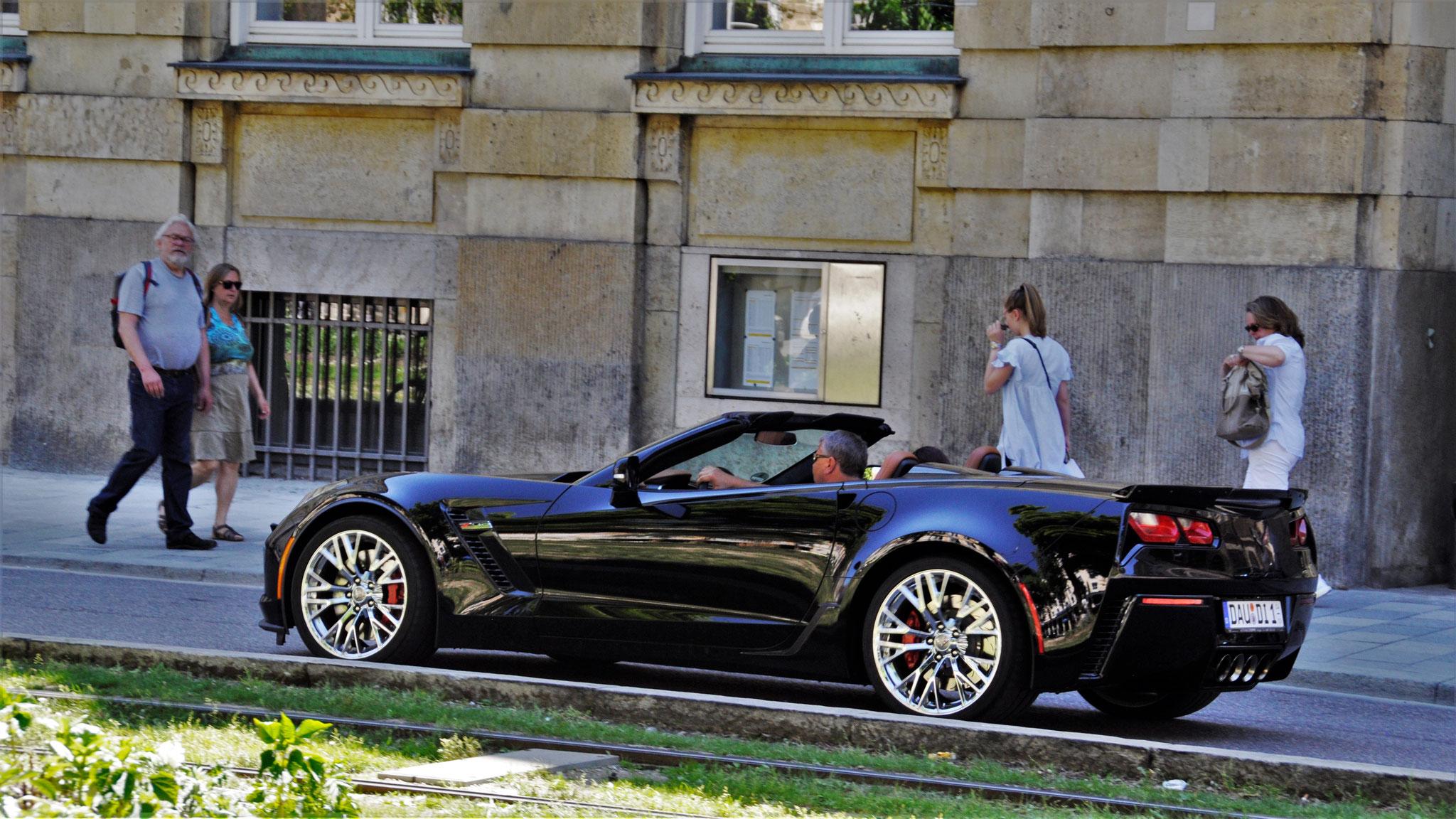 Chevrolet Corvette C7 Z06 Convertible - DAU-DI-1