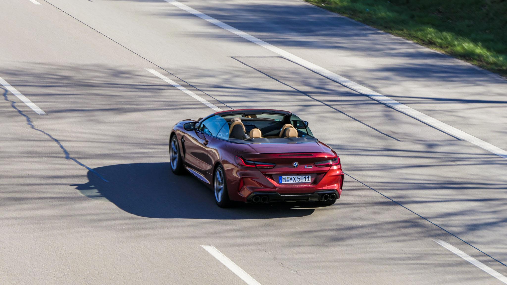 BMW M8 Competition Cabrio - M-YX-5011